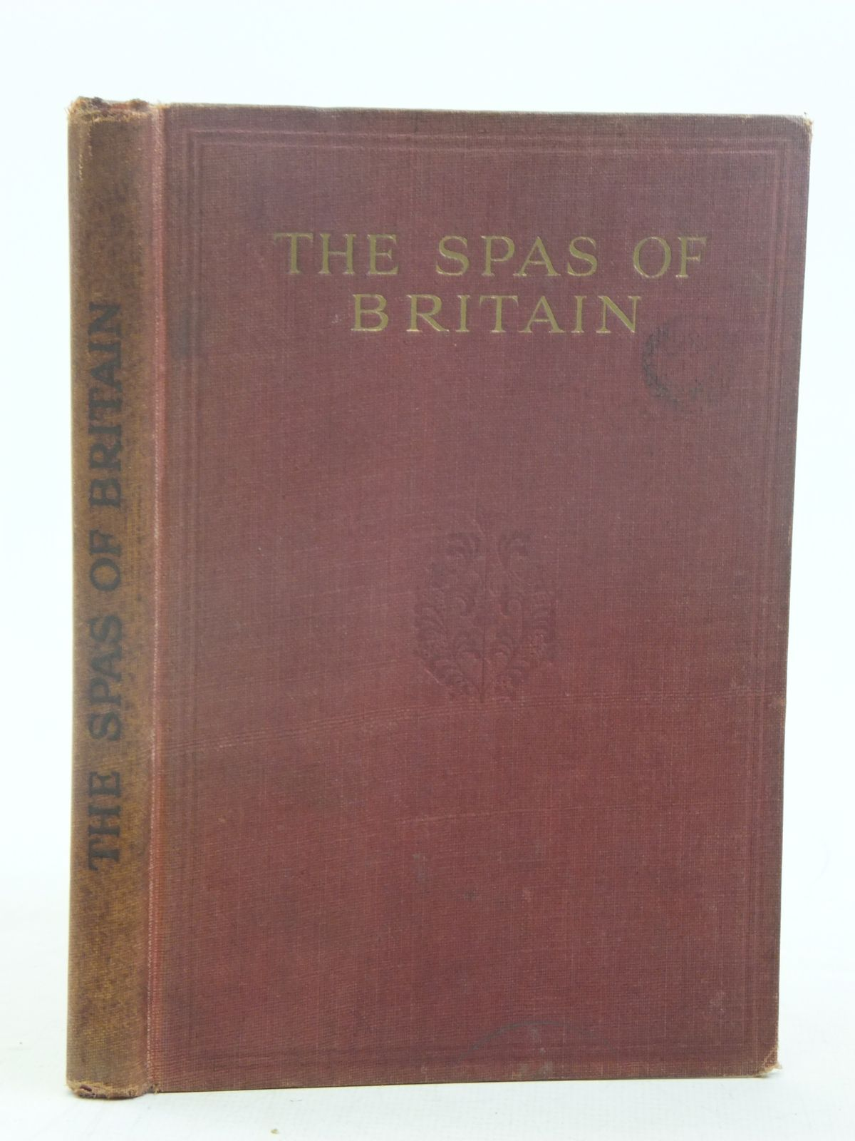 Photo of THE SPAS OF BRITAIN THE OFFICIAL HANDBOOK OF THE BRITISH SPA FEDERATION written by Rolleston, Humphrey<br />Fox, R. Fortescue published by Pitman Press Bath (STOCK CODE: 1810845)  for sale by Stella & Rose's Books