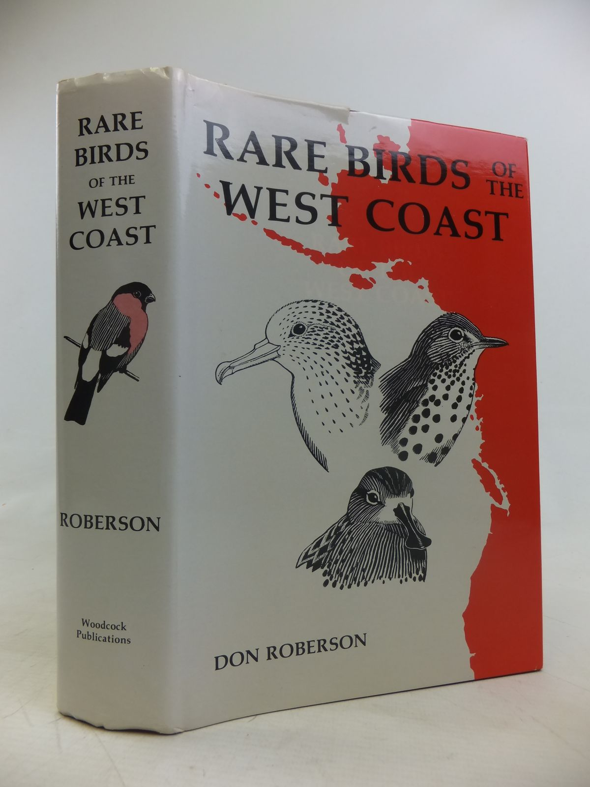 Photo of RARE BIRDS OF THE WEST COAST OF NORTH AMERICA written by Roberson, Don illustrated by Roberson, Don<br />Dittmann, Donna<br />et al.,  published by Woodcock Publications (STOCK CODE: 1810997)  for sale by Stella & Rose's Books