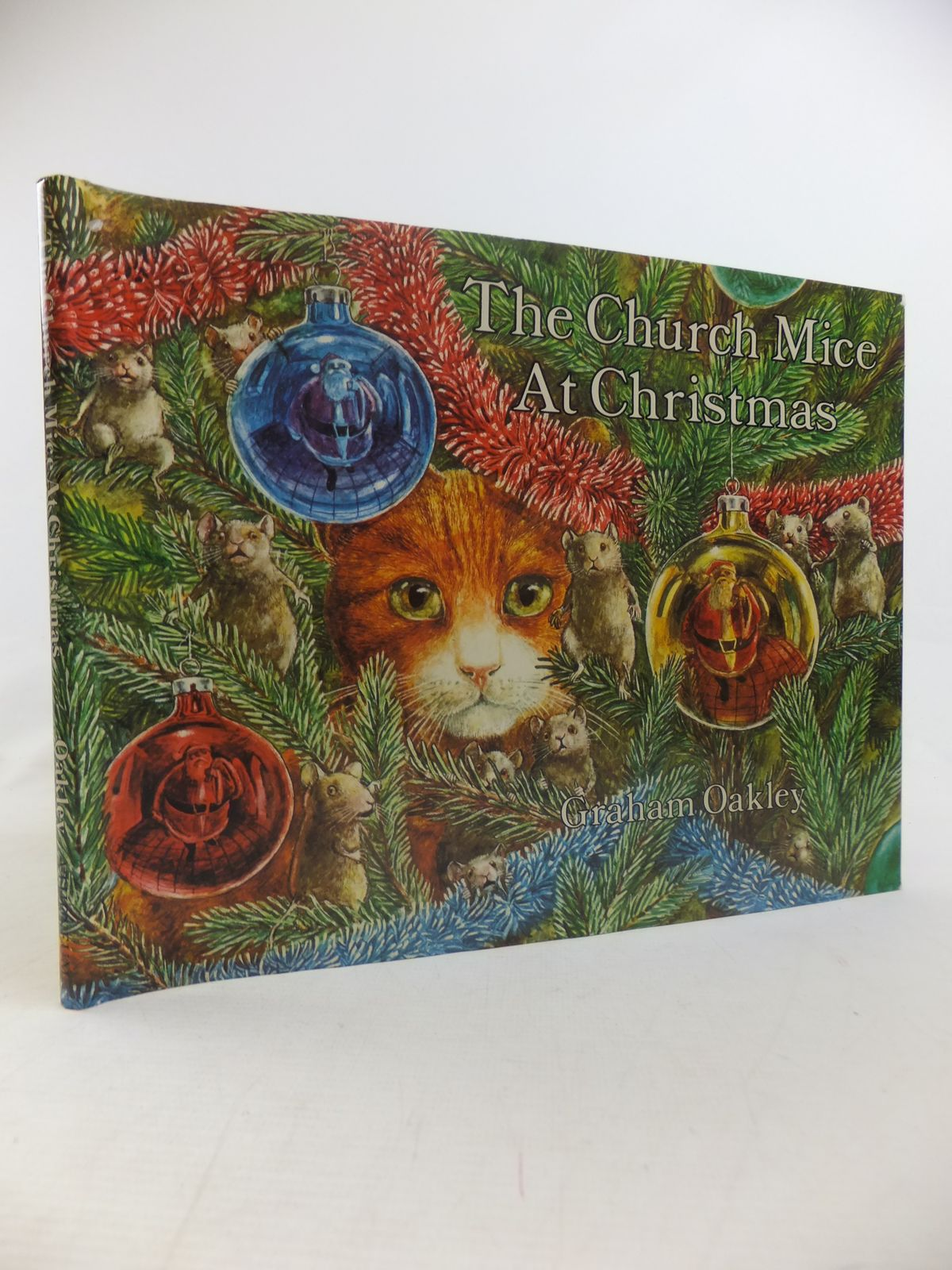Photo of THE CHURCH MICE AT CHRISTMAS written by Oakley, Graham illustrated by Oakley, Graham published by Atheneum (STOCK CODE: 1811044)  for sale by Stella & Rose's Books