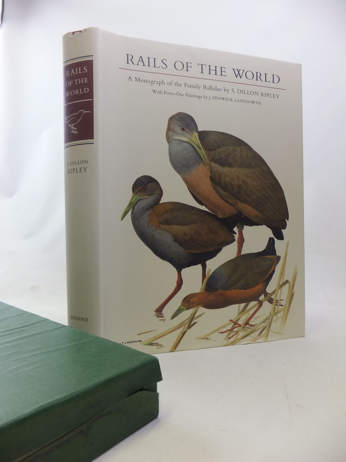 Photo of RAILS OF THE WORLD written by Ripley, S. Dillon Olson, Storrs L. illustrated by Lansdowne, J. Fenwick published by M.F. Feheley (STOCK CODE: 1811048)  for sale by Stella & Rose's Books