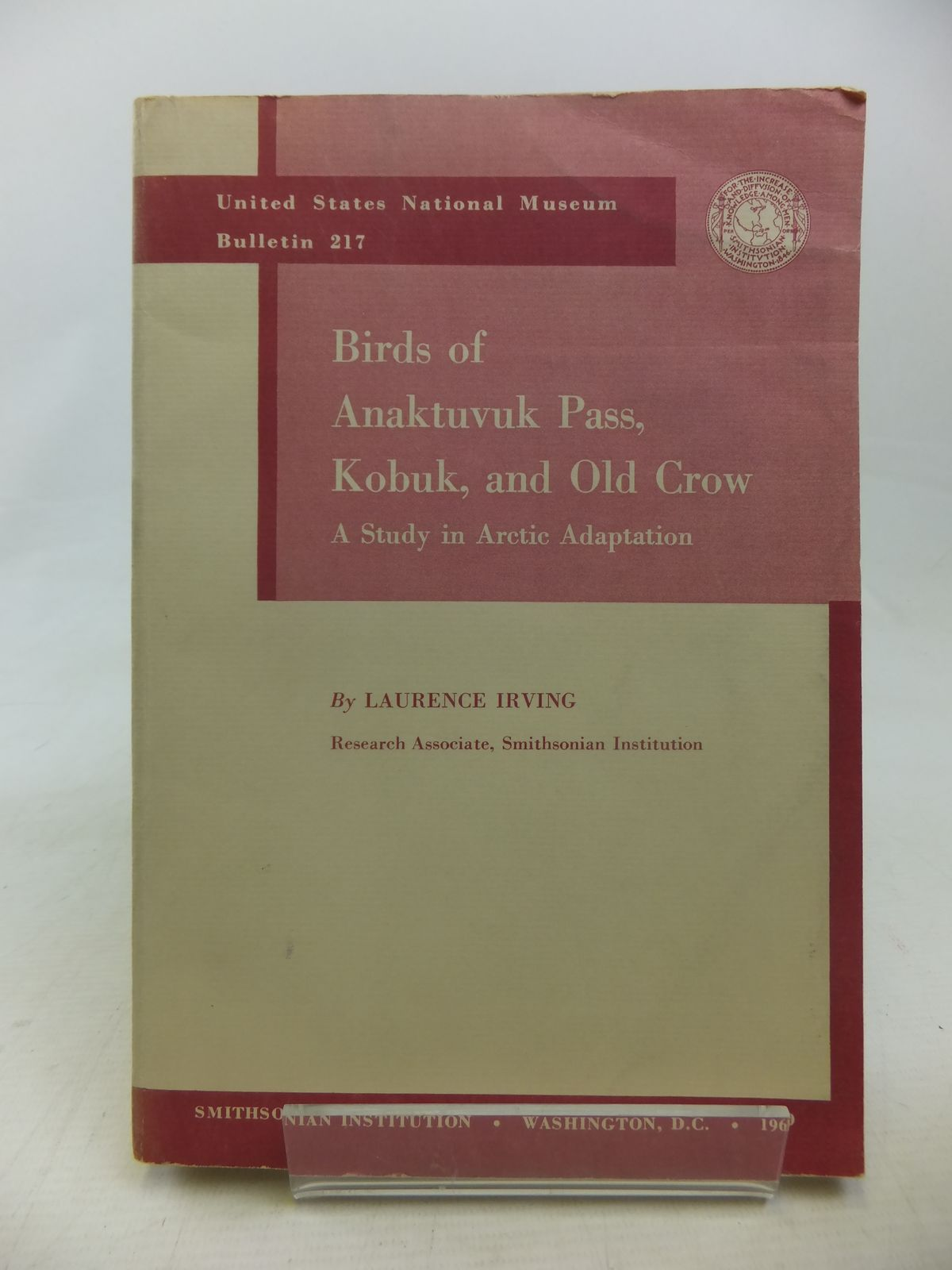 Photo of BIRDS OF ANAKTUVUK PASS, KOBUK, AND OLD CROW: A STUDY IN ARCTIC ADAPTION- Stock Number: 1811105