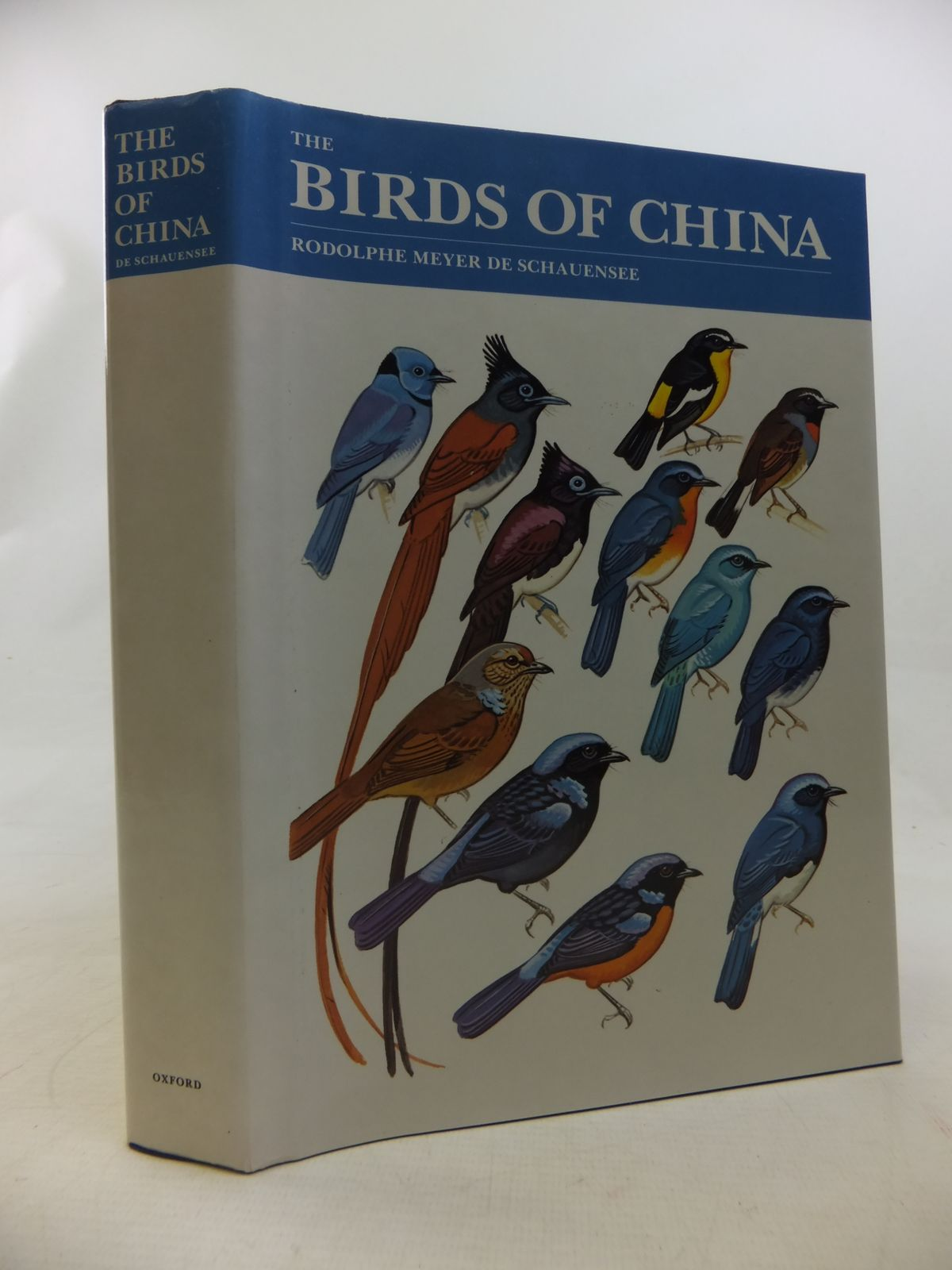 Photo of THE BIRDS OF CHINA written by De Schauensee, Rodolphe Meyer published by Oxford University Press (STOCK CODE: 1811121)  for sale by Stella & Rose's Books