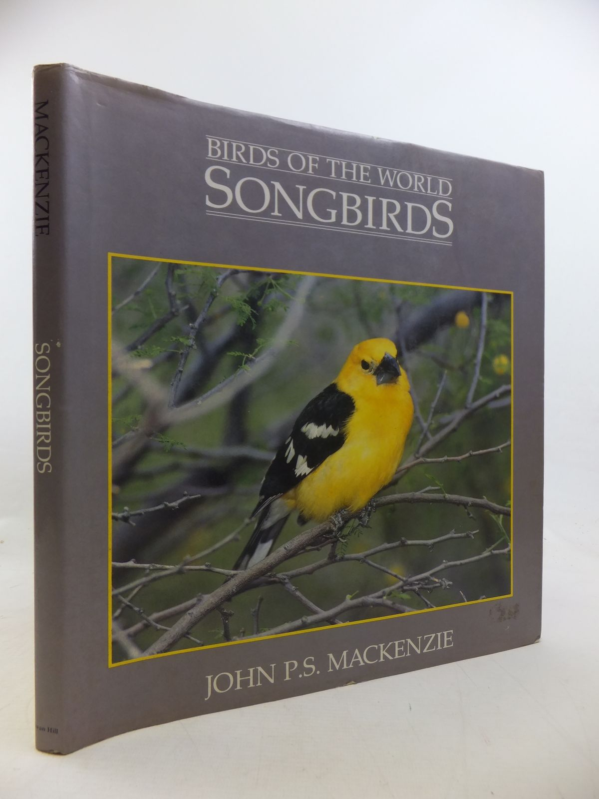 Photo of BIRDS OF THE WORLD SONGBIRDS written by Mackenzie, John P.S. published by Swan Hill Press (STOCK CODE: 1811172)  for sale by Stella & Rose's Books