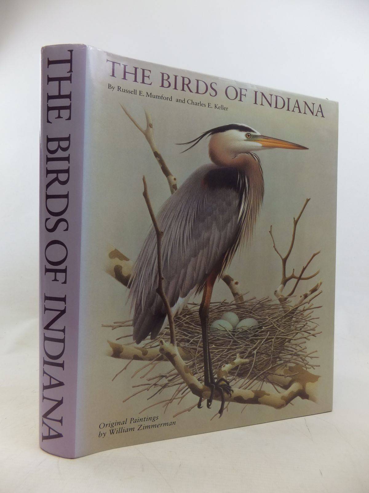 Photo of THE BIRDS OF INDIANA written by Mumford, Russell E. Keller, Charles E. illustrated by Zimmerman, William published by Indiana University Press (STOCK CODE: 1811191)  for sale by Stella & Rose's Books