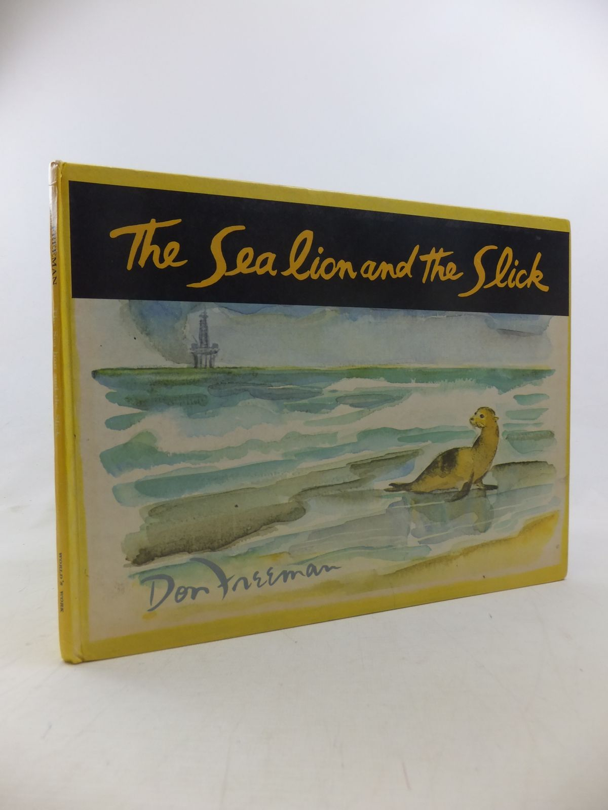 Photo of THE SEA LION AND THE SLICK- Stock Number: 1811236
