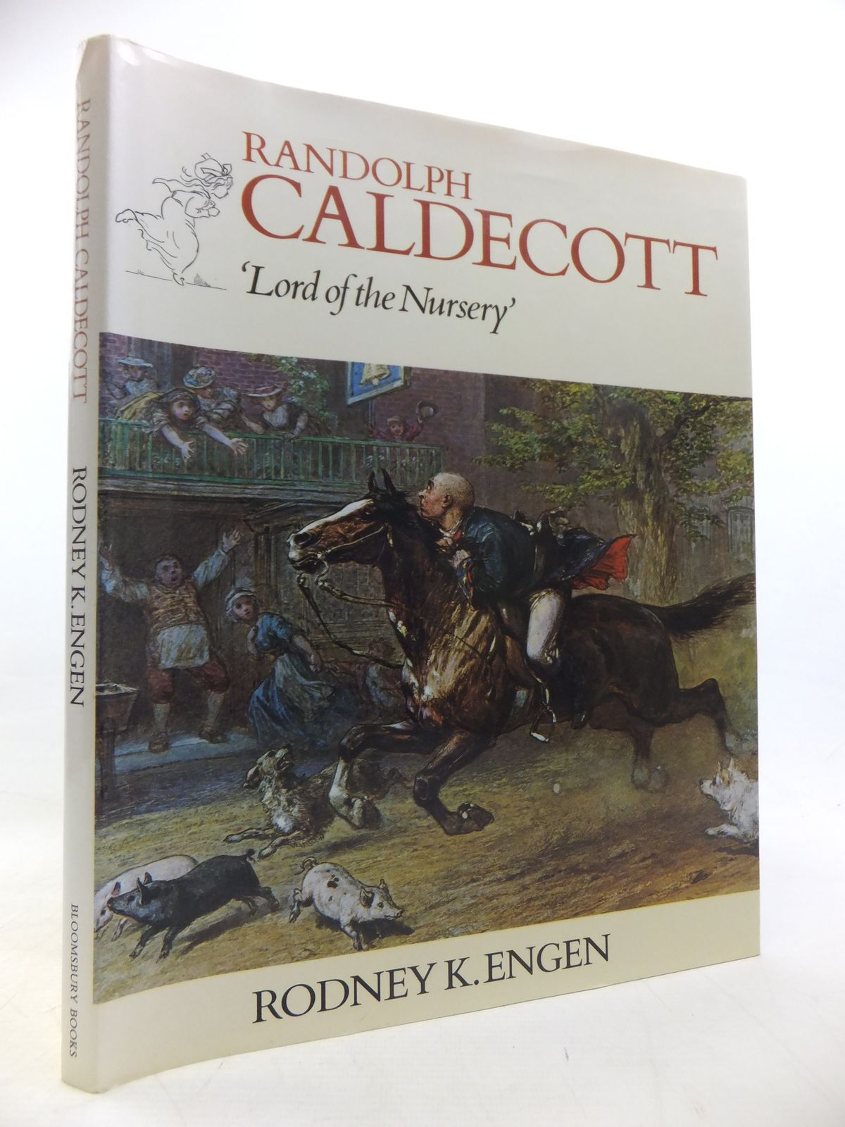 Photo of RANDOLPH CALDECOTT 'LORD OF THE NURSERY' written by Engen, Rodney K. illustrated by Caldecott, Randolph published by Bloomsbury Books (STOCK CODE: 1811257)  for sale by Stella & Rose's Books