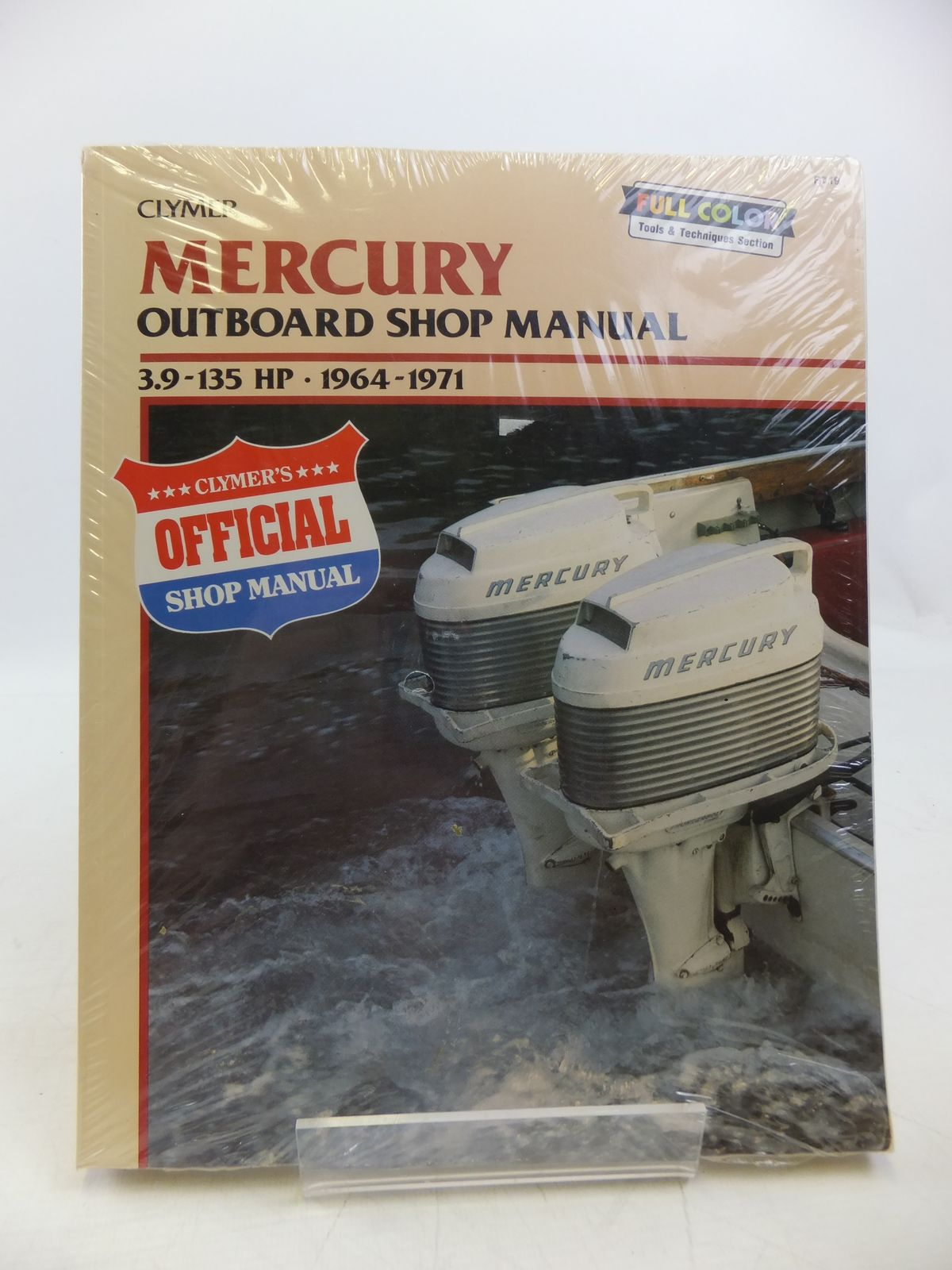 Photo of MERCURY OUTBOARD SHOP MANUAL 3.9-135 HP 1964-1971 written by Lahue, Kalton C. published by Clymer (STOCK CODE: 1811479)  for sale by Stella & Rose's Books
