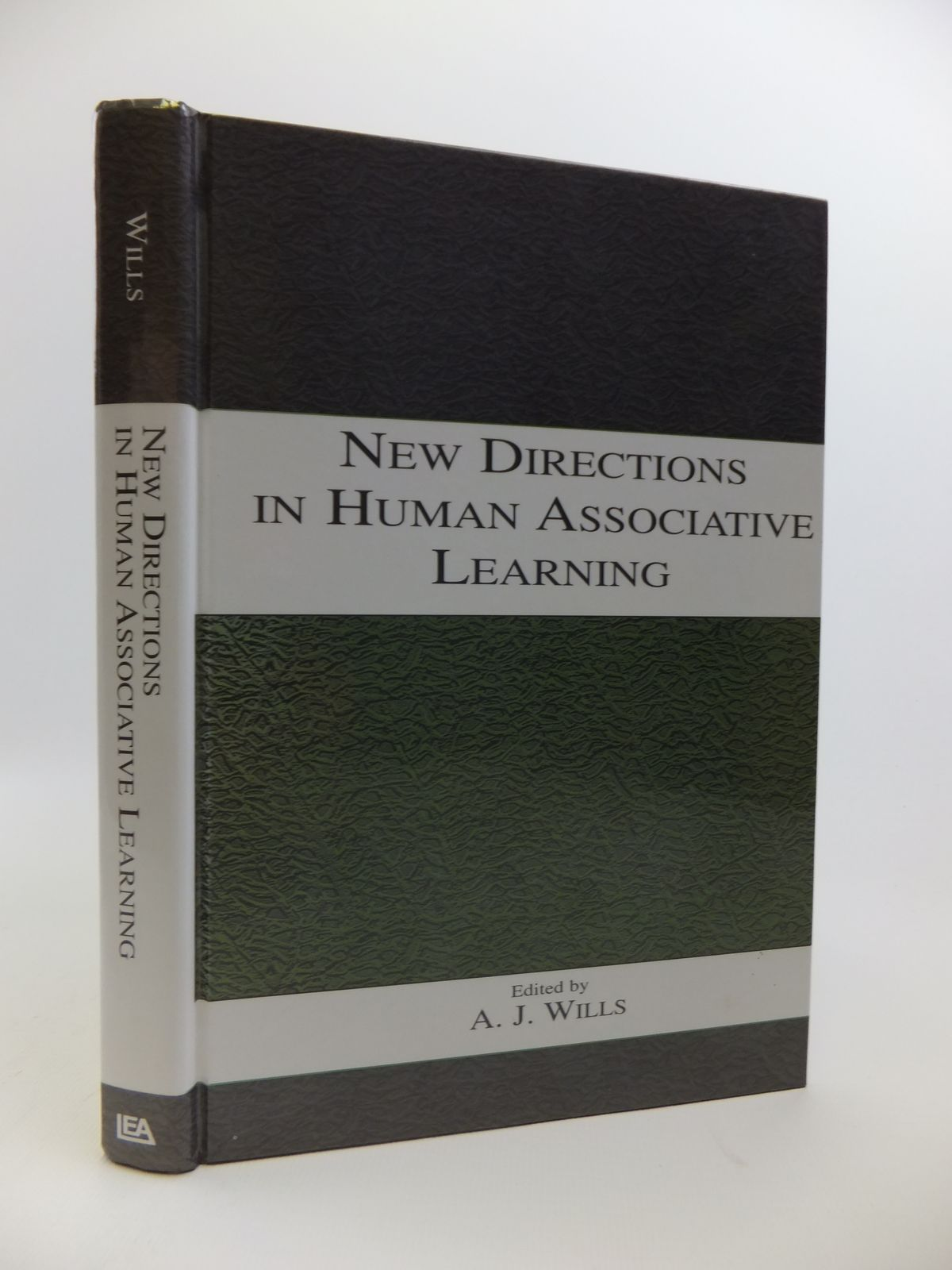 Photo of NEW DIRECTIONS IN HUMAN ASSOCIATIVE LEARNING- Stock Number: 1811899