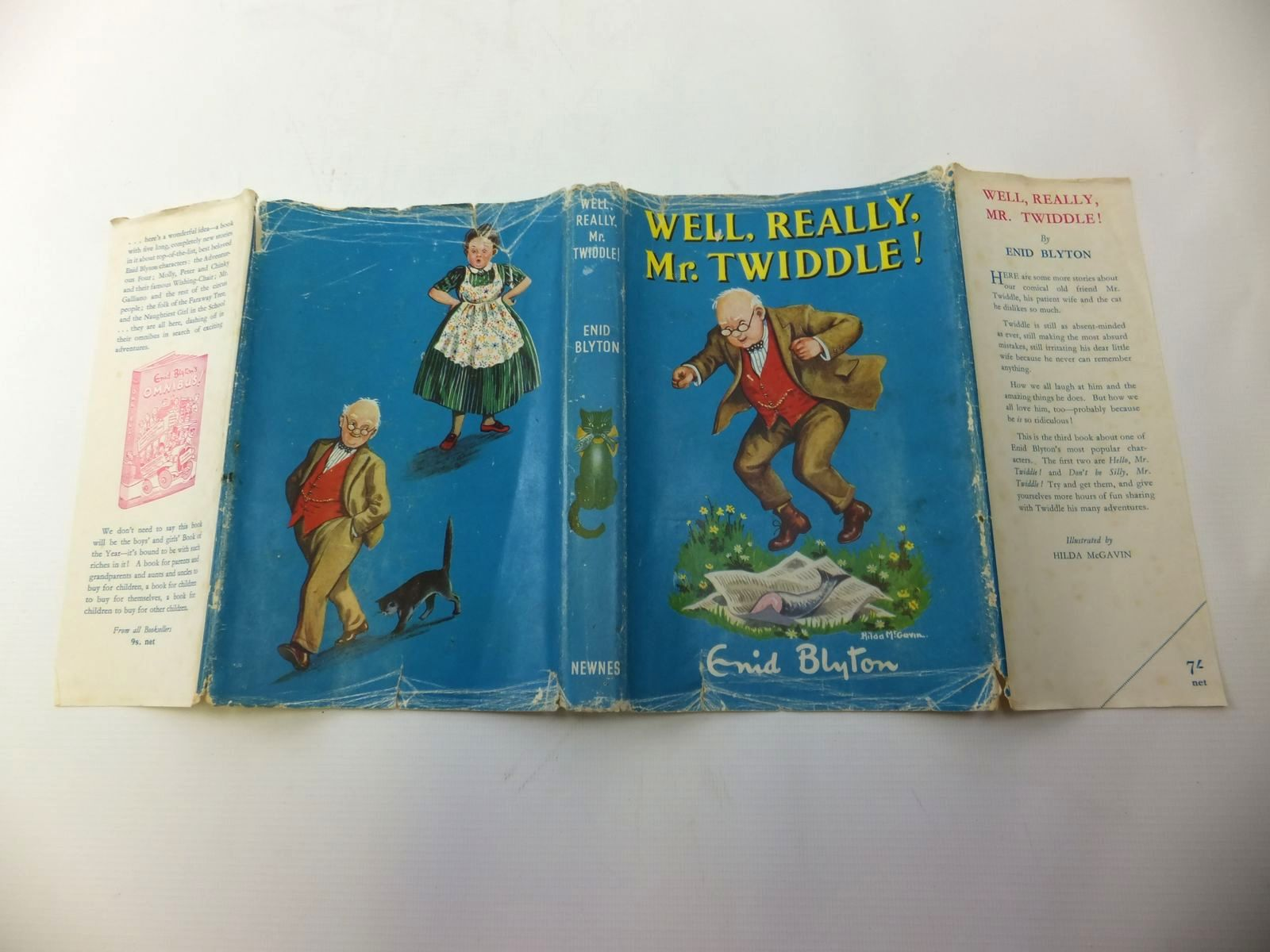Photo of WELL, REALLY, MR. TWIDDLE! written by Blyton, Enid illustrated by McGavin, Hilda published by George Newnes Limited (STOCK CODE: 1811933)  for sale by Stella & Rose's Books