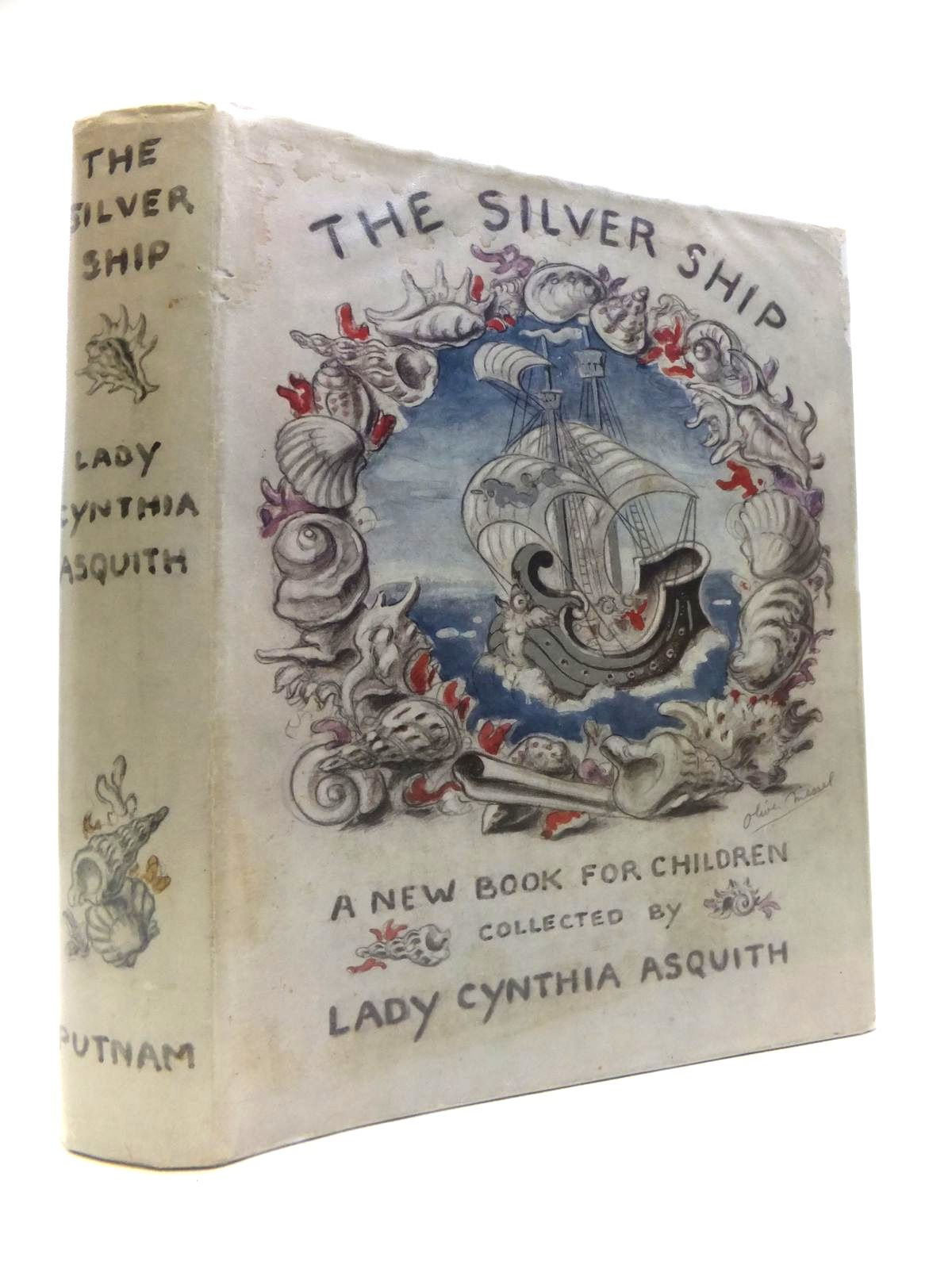 Photo of THE SILVER SHIP written by Asquith, Cynthia Thirkell, Angela Klickmann, Flora et al, illustrated by Watson, A.H. Brock, H.M. MacDonald, A.K. et al., published by Putnam (STOCK CODE: 1811946)  for sale by Stella & Rose's Books