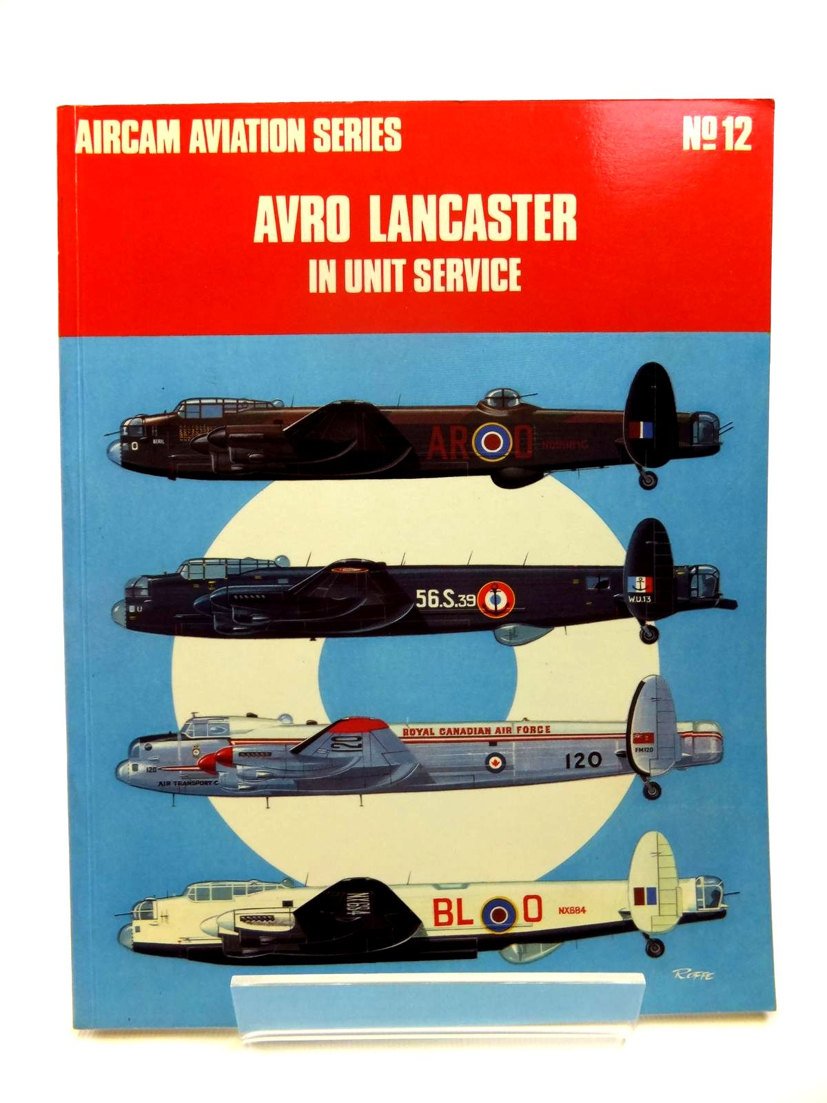 Photo of AVRO LANCASTER IN UNIT SERVICE written by Garbett, Mike Goulding, Brian illustrated by Roffe, Mike published by Osprey Publishing (STOCK CODE: 1812011)  for sale by Stella & Rose's Books