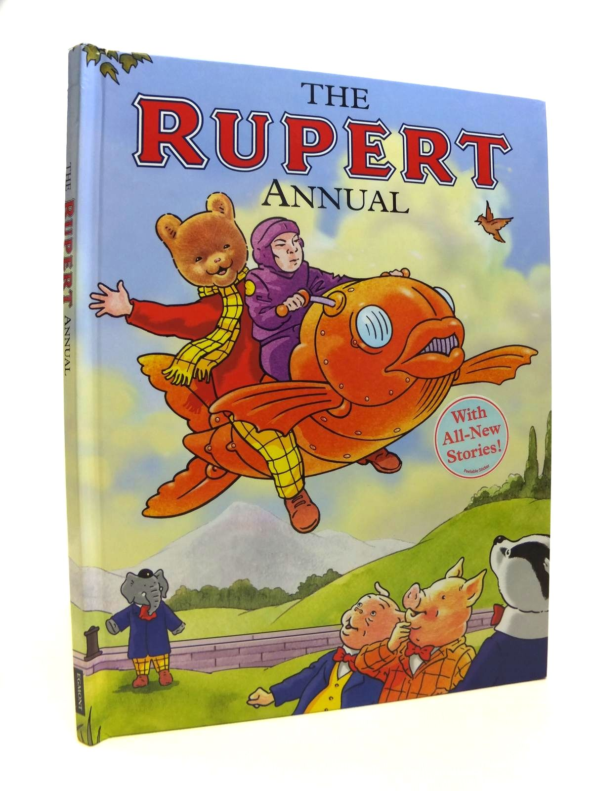 Photo of RUPERT ANNUAL 2009 written by Trotter, Stuart illustrated by Trotter, Stuart published by Egmont Books Ltd. (STOCK CODE: 1812169)  for sale by Stella & Rose's Books