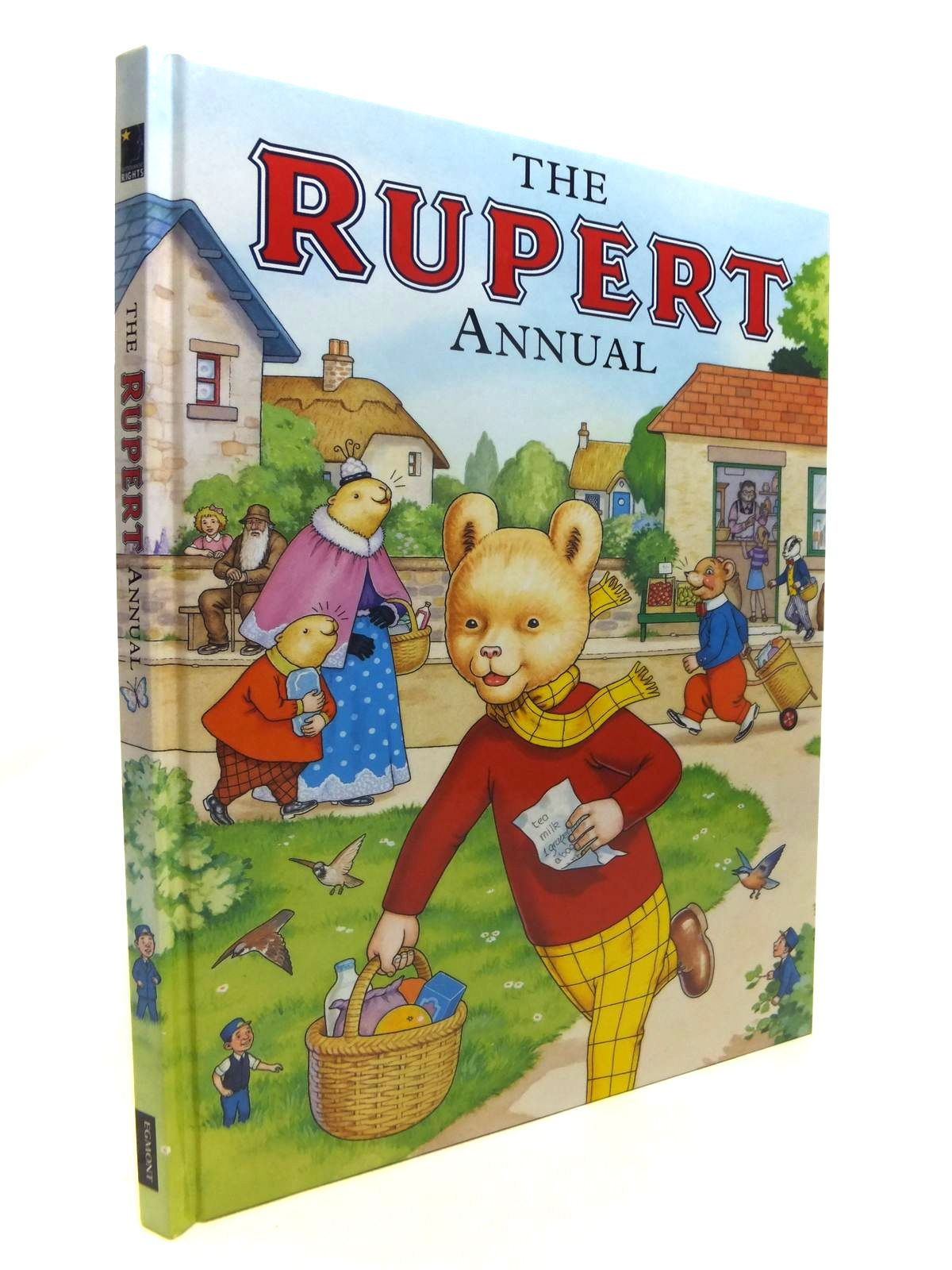 Photo of RUPERT ANNUAL 2007 written by Henderson, James illustrated by Harrold, John published by Egmont Uk Limited (STOCK CODE: 1812170)  for sale by Stella & Rose's Books