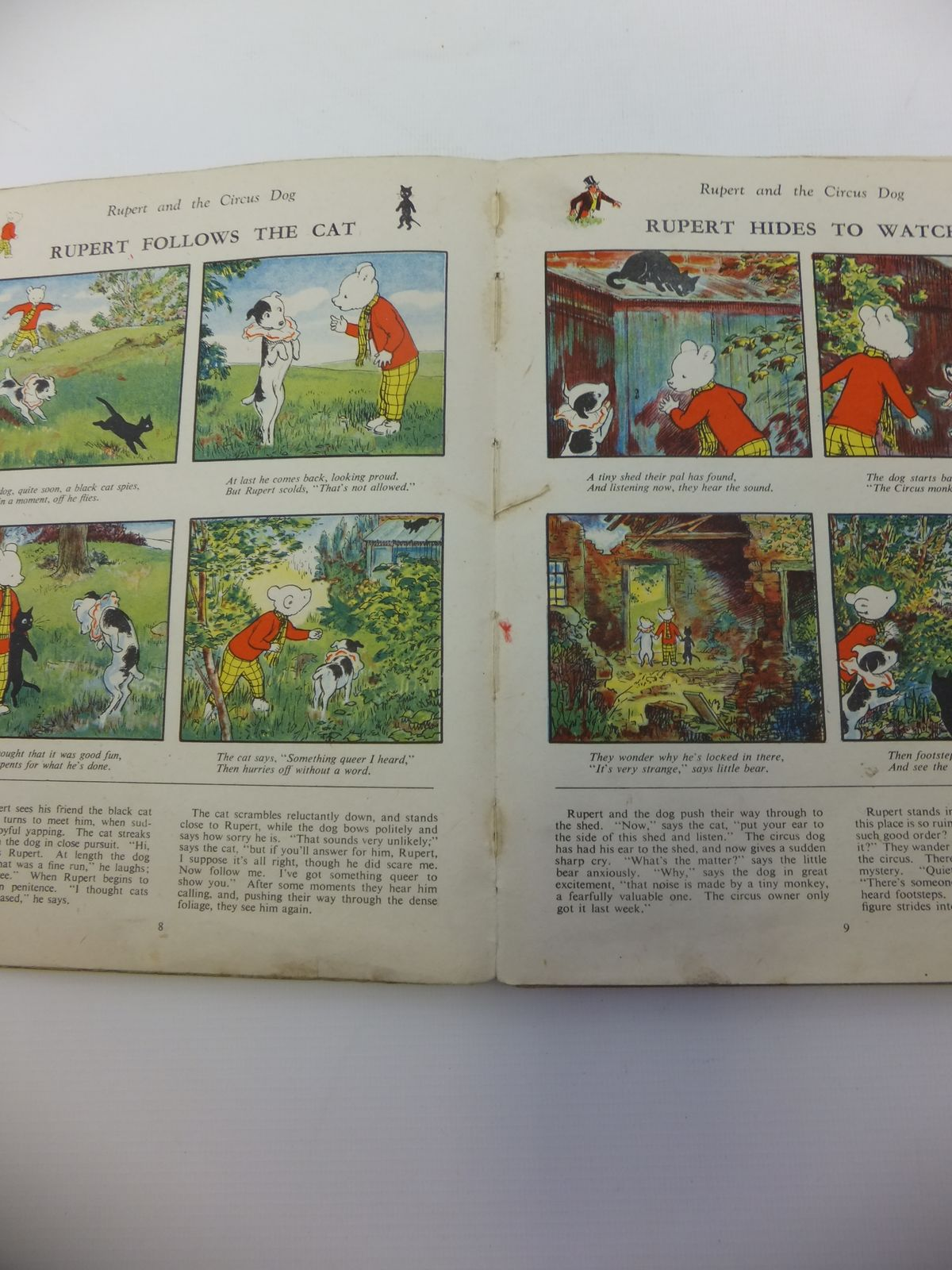 Photo of RUPERT ANNUAL 1943 - MORE RUPERT ADVENTURES written by Bestall, Alfred illustrated by Bestall, Alfred published by Daily Express (STOCK CODE: 1812263)  for sale by Stella & Rose's Books