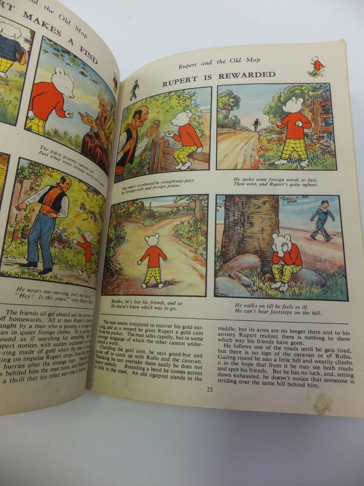 Photo of RUPERT ANNUAL 1944 - RUPERT IN MORE ADVENTURES written by Bestall, Alfred illustrated by Bestall, Alfred published by Daily Express (STOCK CODE: 1812264)  for sale by Stella & Rose's Books