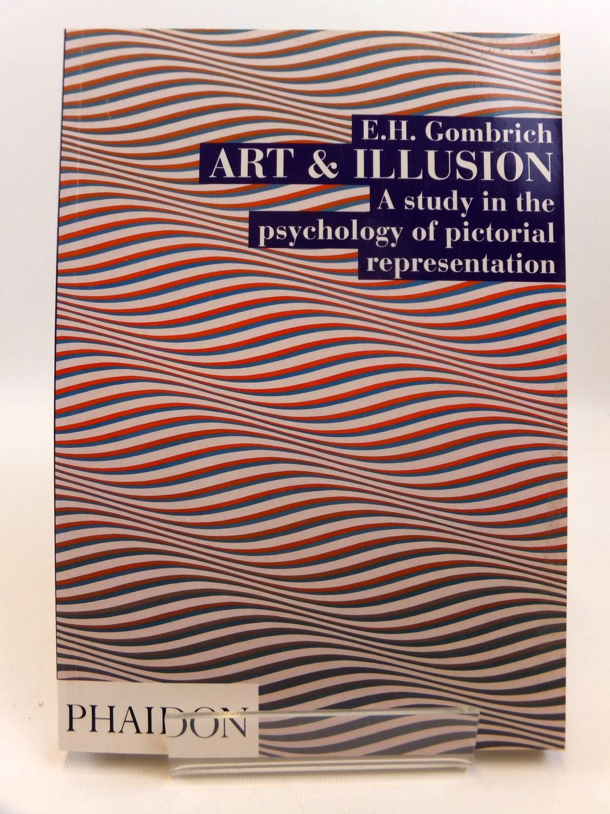 Photo of ART AND ILLUSION  A STUDY IN THE PSYCHOLOGY OF PICTORIAL REPRESENTATION- Stock Number: 1812448
