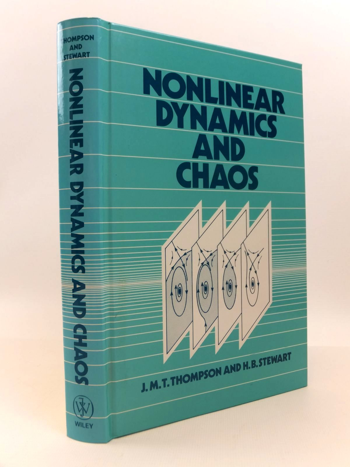 Photo of NONLINEAR DYNAMICS AND CHAOS: GEOMETRICAL METHODS FOR ENGINEERS AND SCIENTISTS written by Thompson, J.M.T.