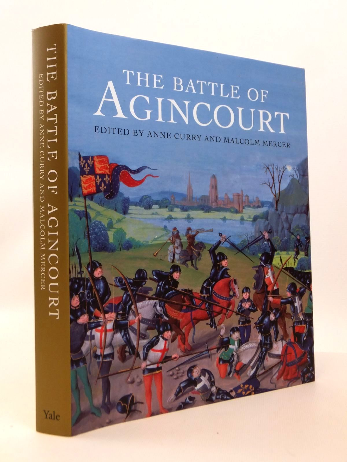 Photo of THE BATTLE OF AGINCOURT written by Curry, Anne<br />Mercer, Malcolm published by Yale University Press (STOCK CODE: 1812544)  for sale by Stella & Rose's Books