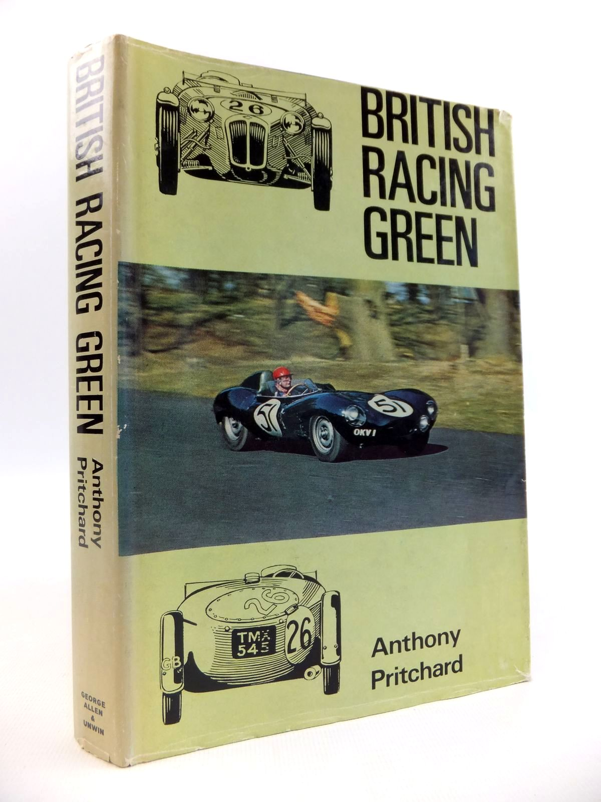 Photo of BRITISH RACING GREEN written by Pritchard, Anthony published by George Allen & Unwin Ltd. (STOCK CODE: 1812646)  for sale by Stella & Rose's Books