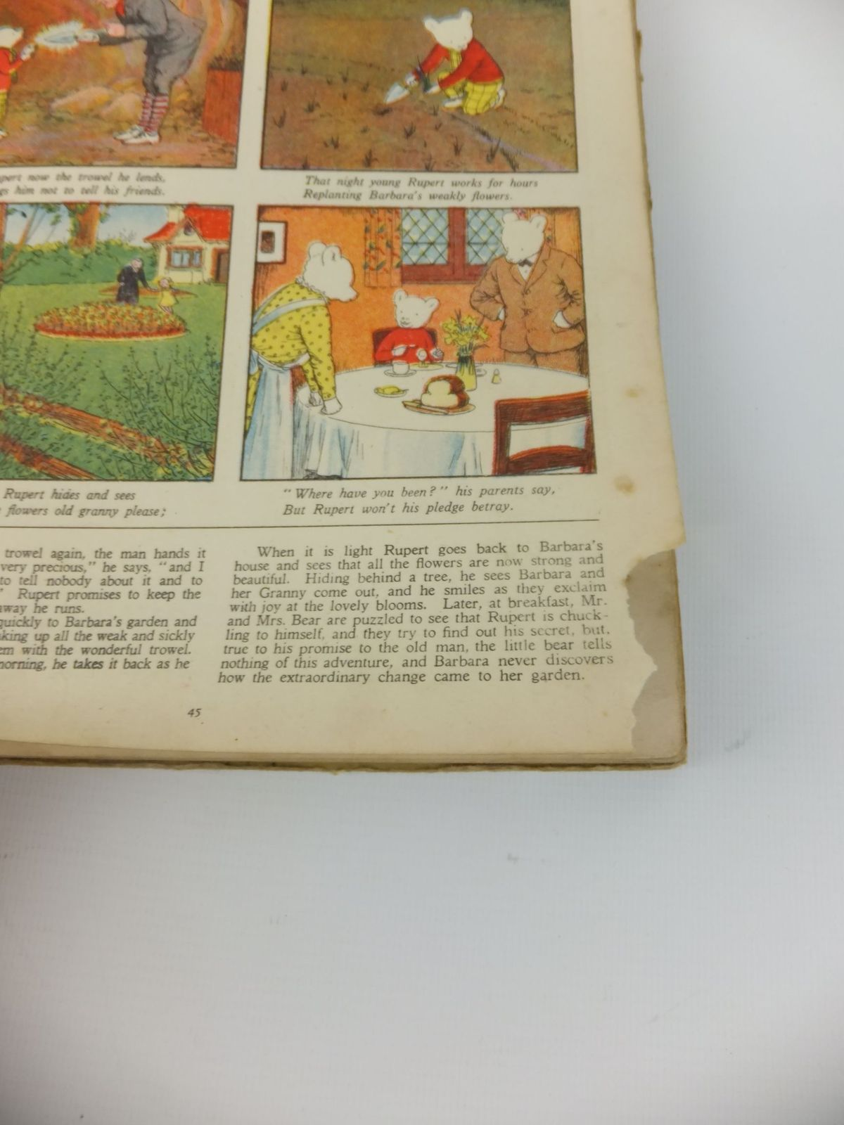 Photo of RUPERT ANNUAL 1940 - RUPERT'S ADVENTURE BOOK written by Bestall, Alfred illustrated by Bestall, Alfred published by Daily Express (STOCK CODE: 1812693)  for sale by Stella & Rose's Books
