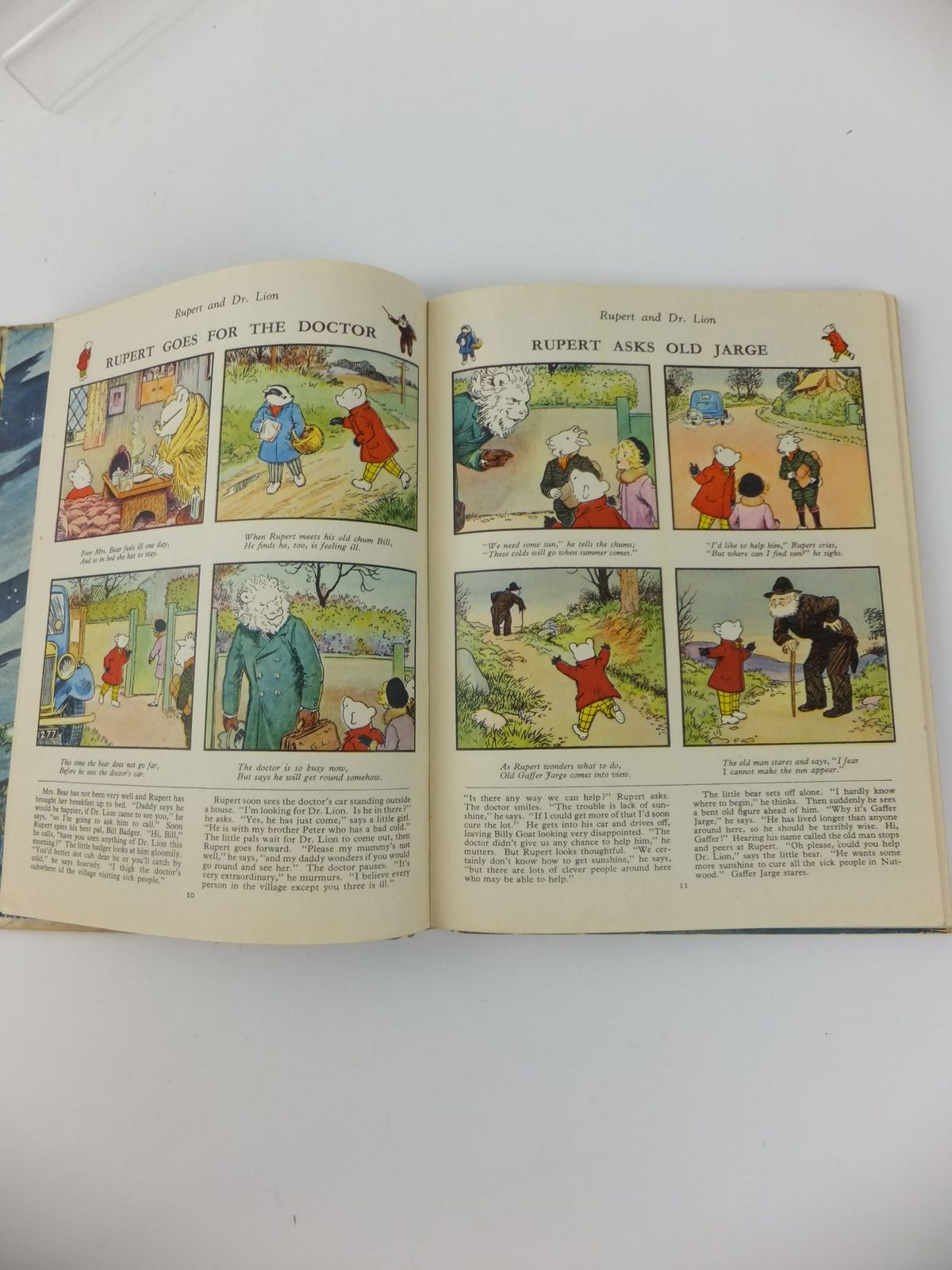 Photo of RUPERT ANNUAL 1951 - THE NEW RUPERT BOOK written by Bestall, Alfred illustrated by Bestall, Alfred published by Daily Express (STOCK CODE: 1812696)  for sale by Stella & Rose's Books