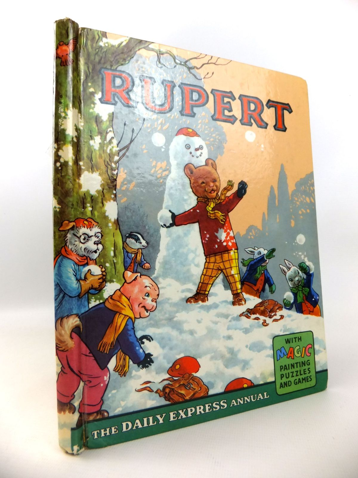 Photo of RUPERT ANNUAL 1962 written by Bestall, Alfred illustrated by Bestall, Alfred published by Daily Express (STOCK CODE: 1812698)  for sale by Stella & Rose's Books