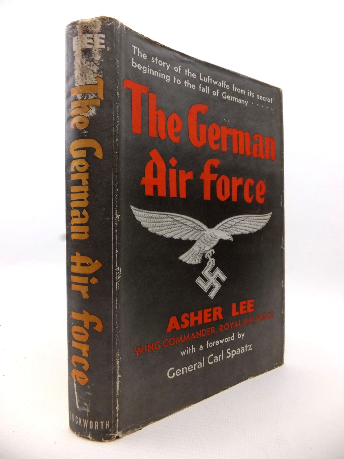 Photo of THE GERMAN AIR FORCE written by Lee, Asher published by Duckworth (STOCK CODE: 1812871)  for sale by Stella & Rose's Books