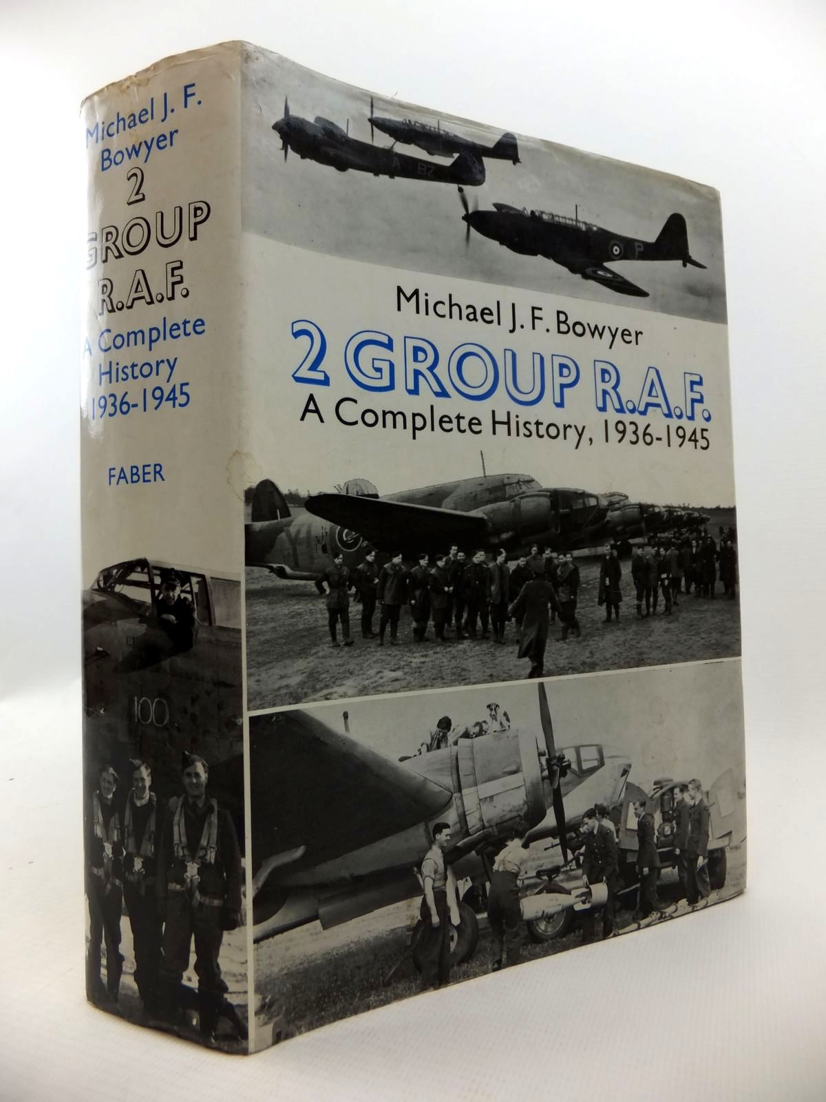 Photo of 2 GROUP R.A.F. A COMPLETE HISTORY 1936-1945 written by Bowyer, Michael J.F. published by Faber & Faber (STOCK CODE: 1813019)  for sale by Stella & Rose's Books