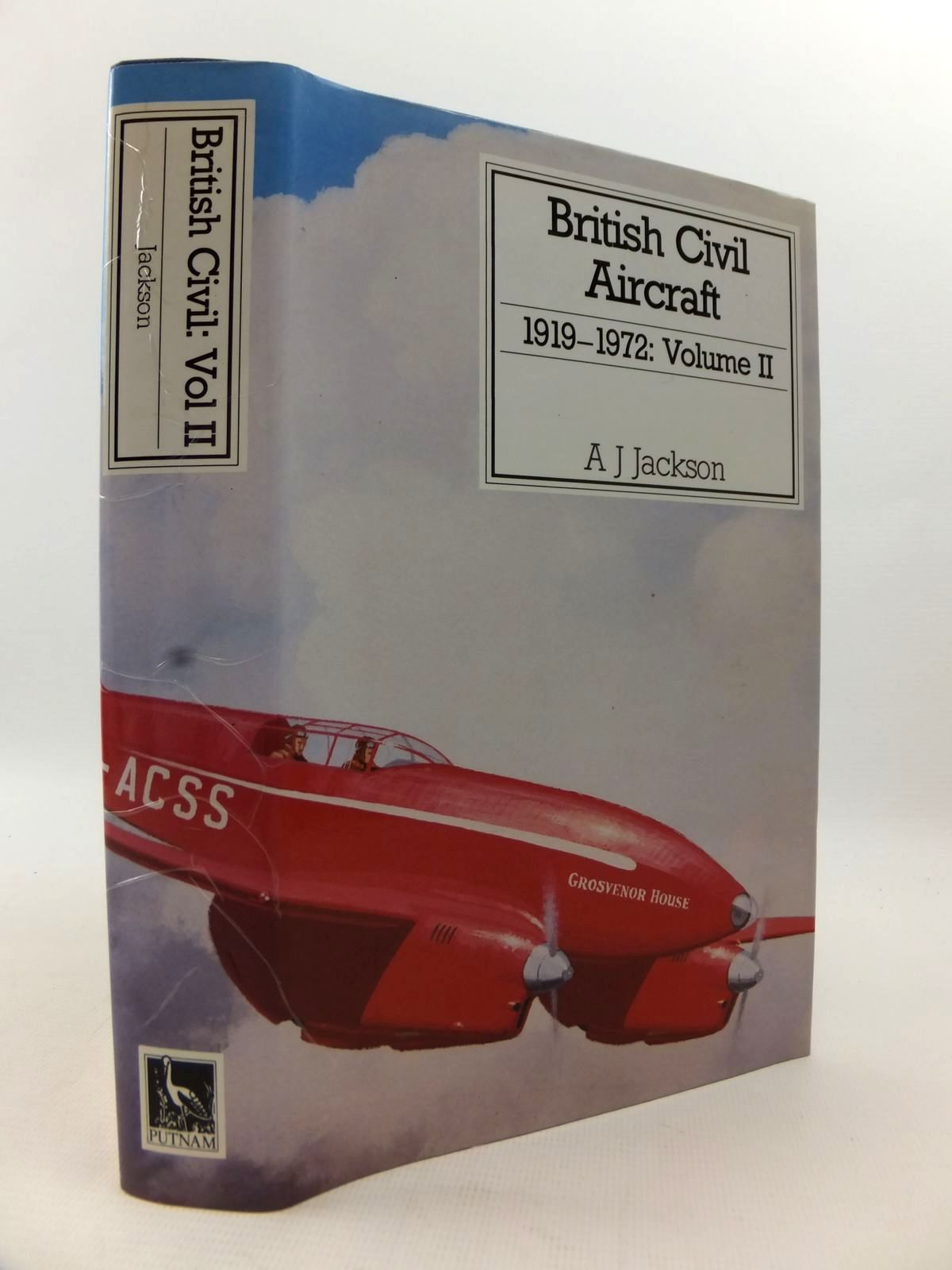 Photo of BRITISH CIVIL AIRCRAFT 1919 VOLUME II written by Jackson, A.J. published by Putnam (STOCK CODE: 1813117)  for sale by Stella & Rose's Books