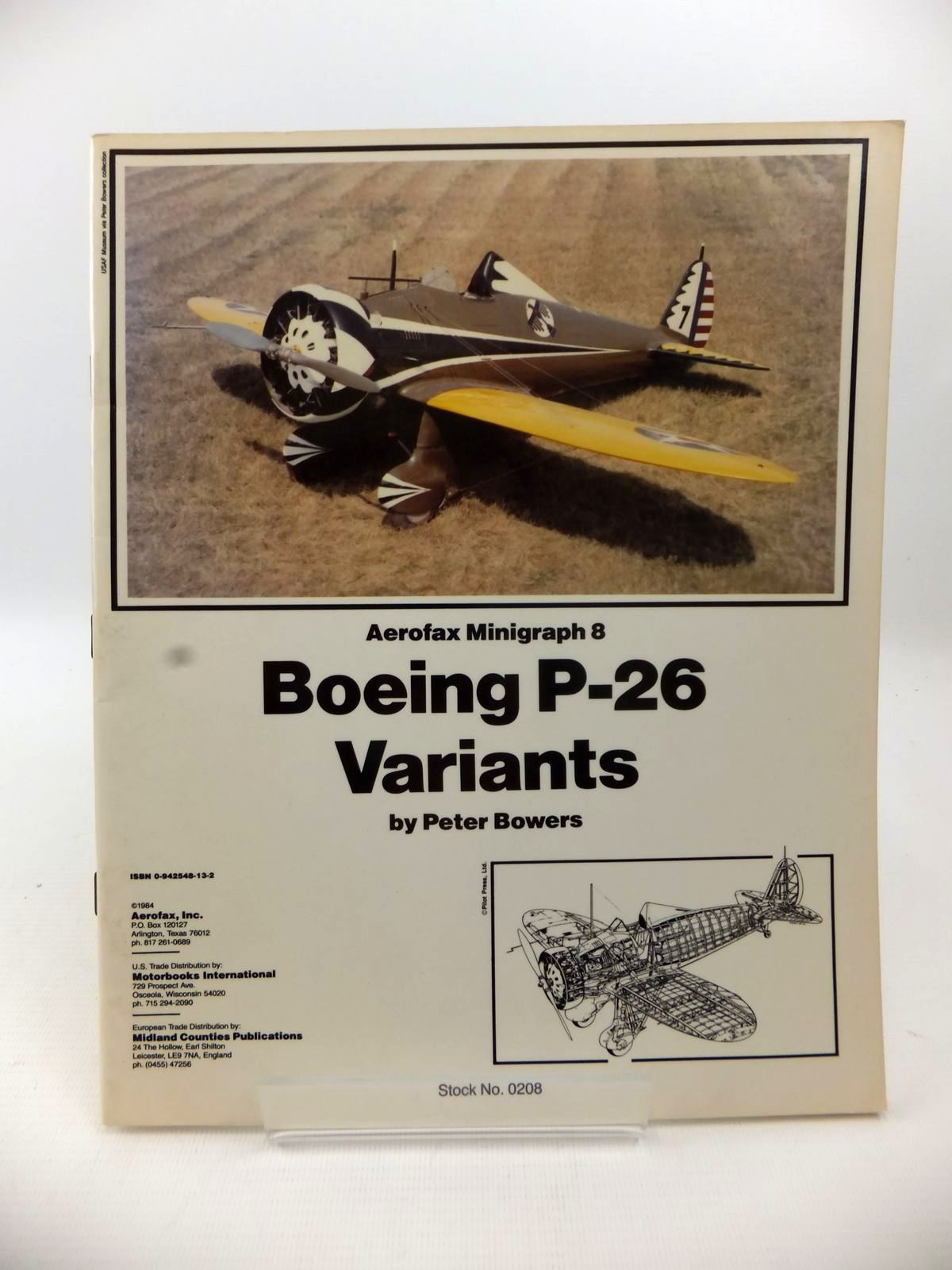 Photo of THE BOEING P-26 VARIANTS STORY- Stock Number: 1813214
