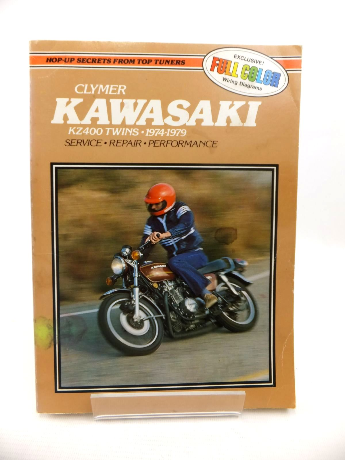 Photo of KAWASAKI KZ400 TWINS 1974-79 SERVICE, REPAIR, PERFORMANCE written by Hoy, Ray published by Clymer (STOCK CODE: 1813313)  for sale by Stella & Rose's Books