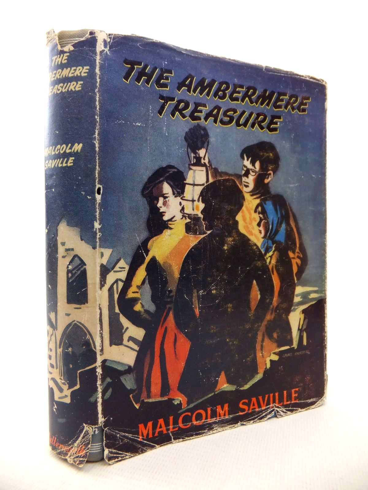 Photo of THE AMBERMERE TREASURE written by Saville, Malcolm illustrated by Foster, Marcia Lane published by Lutterworth Press (STOCK CODE: 1813468)  for sale by Stella & Rose's Books