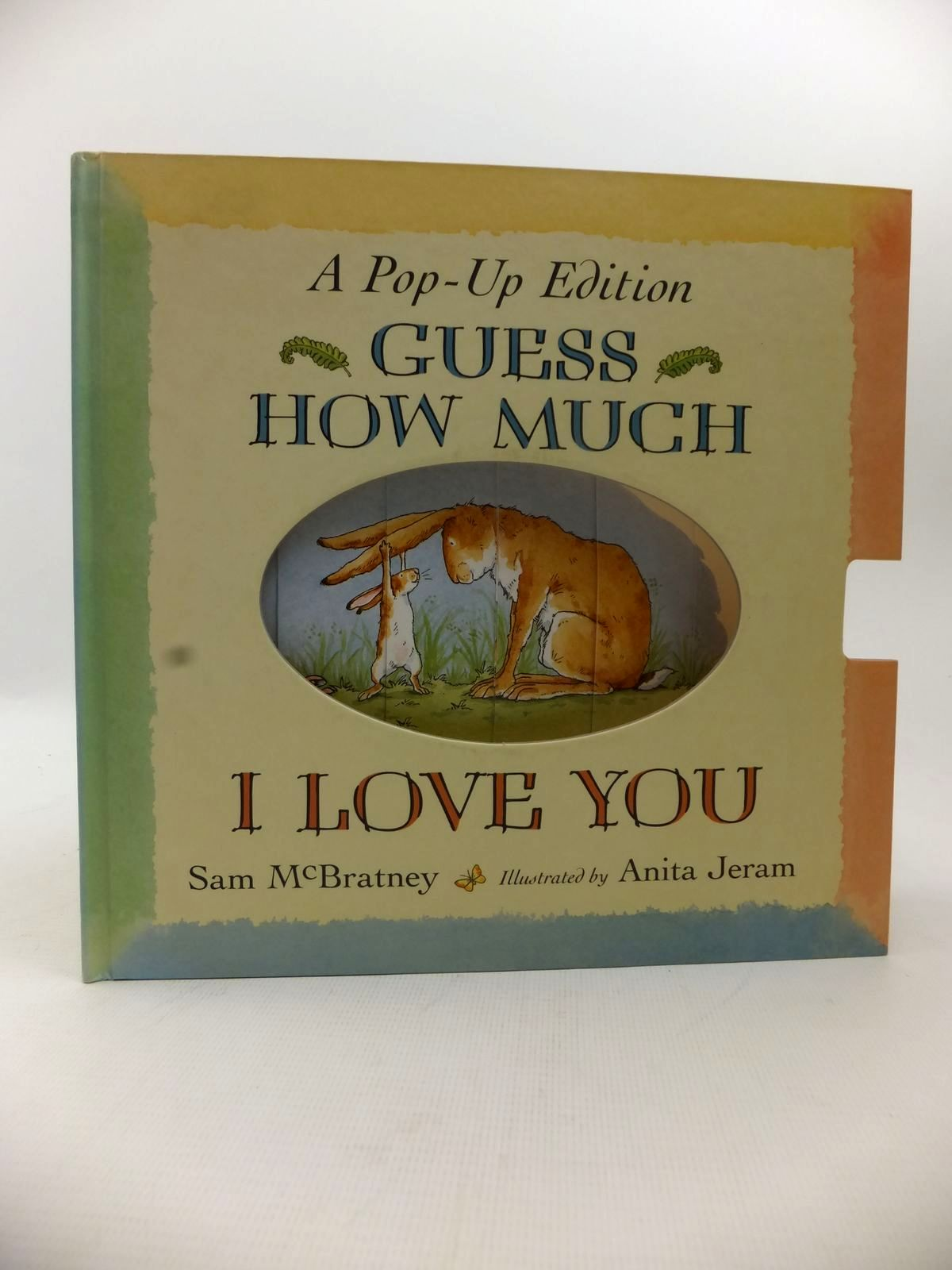 Photo of GUESS HOW MUCH I LOVE YOU A POP-UP EDITION written by McBratney, Sam illustrated by Jeram, Anita published by Walker Books (STOCK CODE: 1813663)  for sale by Stella & Rose's Books
