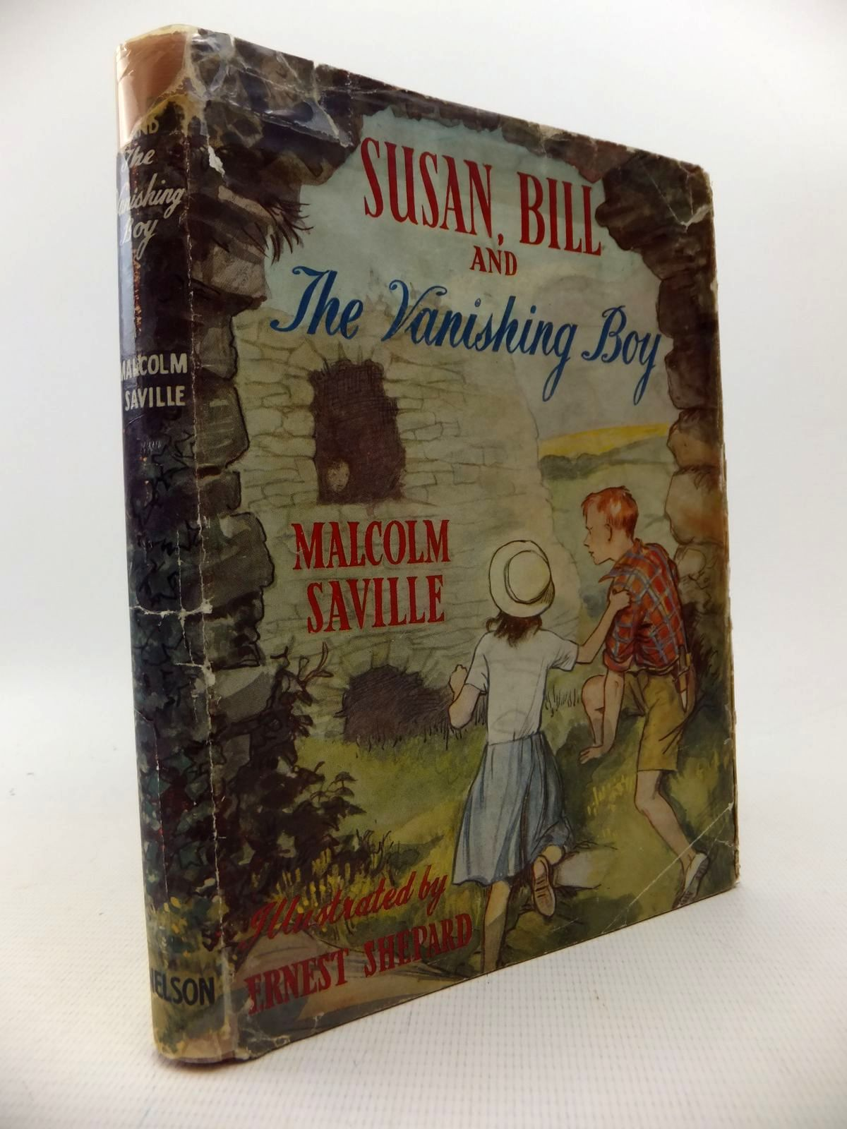 Photo of SUSAN, BILL AND THE VANISHING BOY written by Saville, Malcolm illustrated by Shepard, E.H. published by Thomas Nelson & Sons (STOCK CODE: 1813675)  for sale by Stella & Rose's Books
