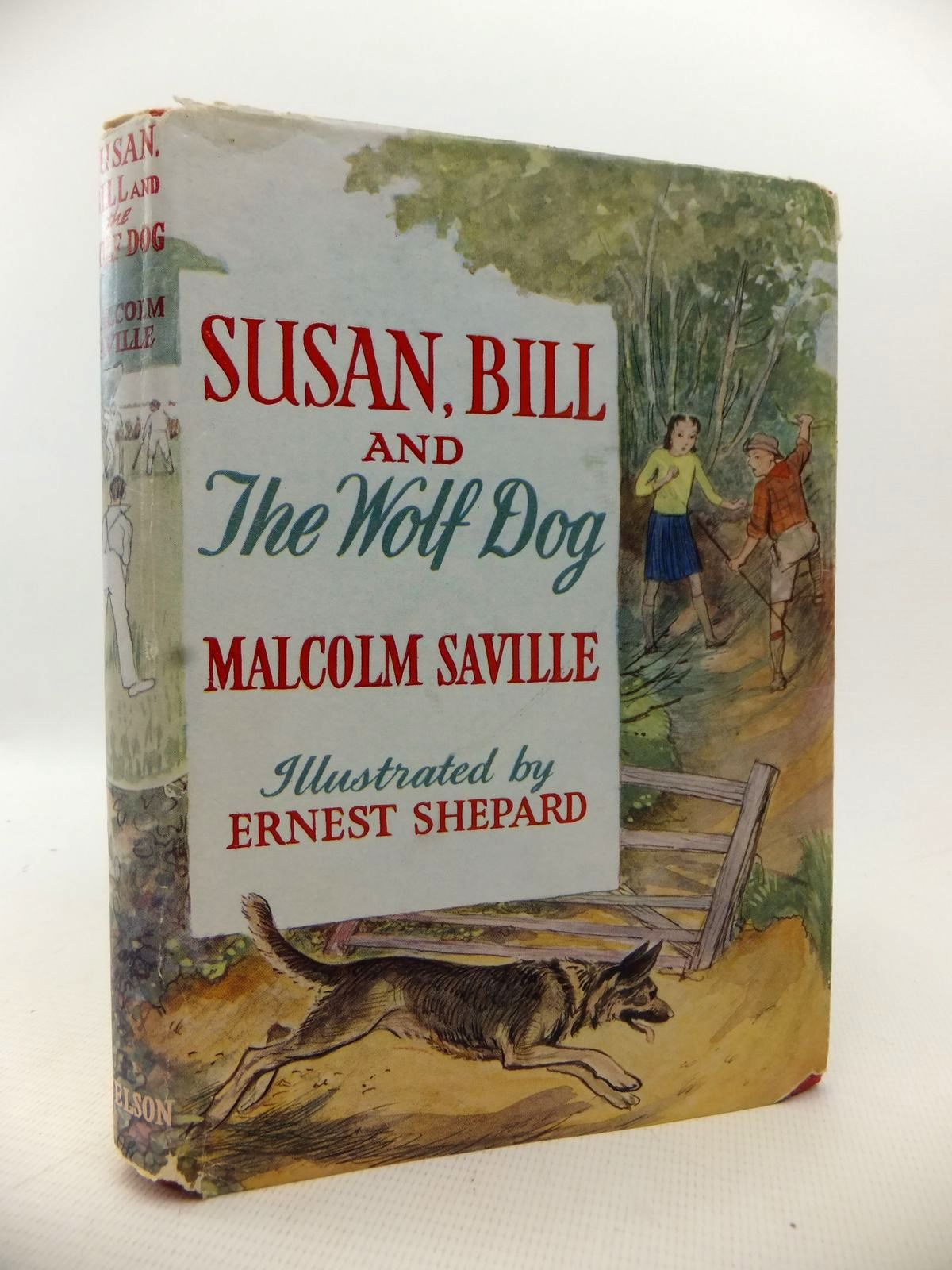 Photo of SUSAN, BILL AND THE WOLF-DOG written by Saville, Malcolm illustrated by Shepard, E.H. published by Thomas Nelson & Sons (STOCK CODE: 1813682)  for sale by Stella & Rose's Books