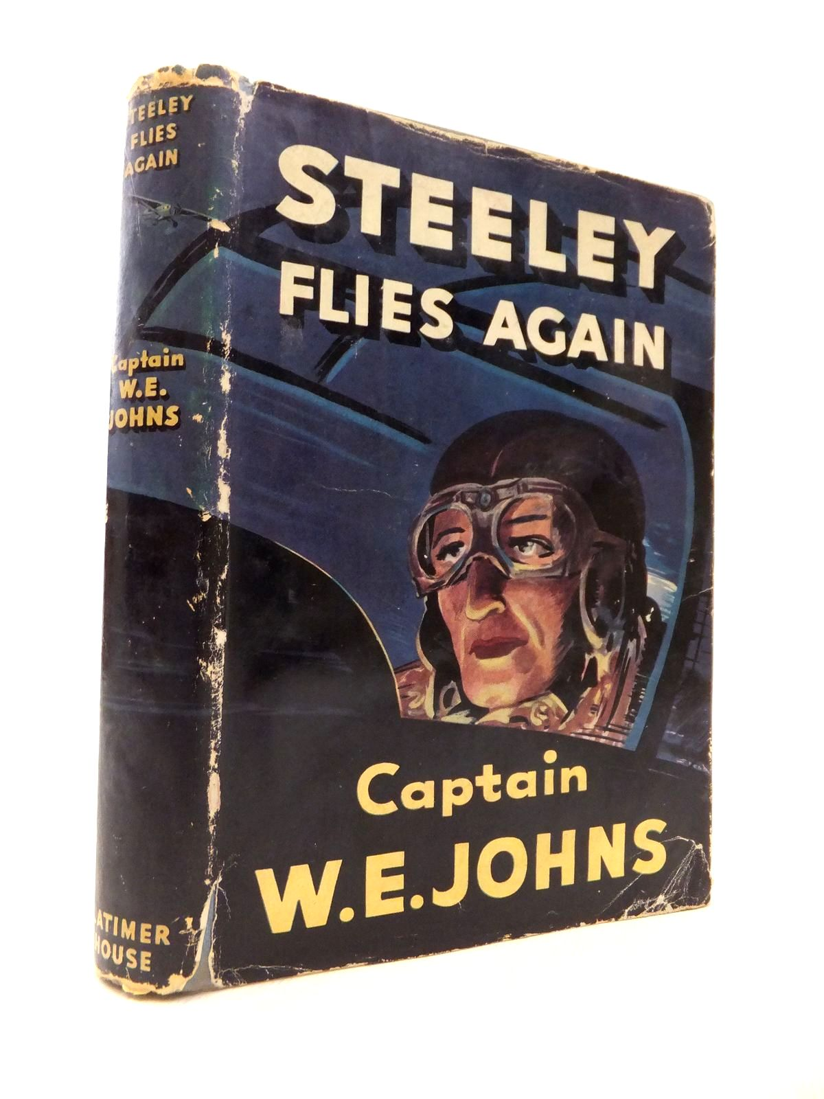 Photo of STEELEY FLIES AGAIN written by Johns, W.E. published by Latimer House Limited (STOCK CODE: 1813863)  for sale by Stella & Rose's Books