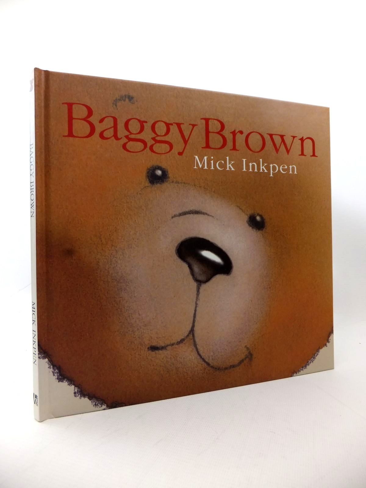 Photo of BAGGY BROWN written by Inkpen, Mick illustrated by Inkpen, Mick published by Hodder Children's Books (STOCK CODE: 1813873)  for sale by Stella & Rose's Books