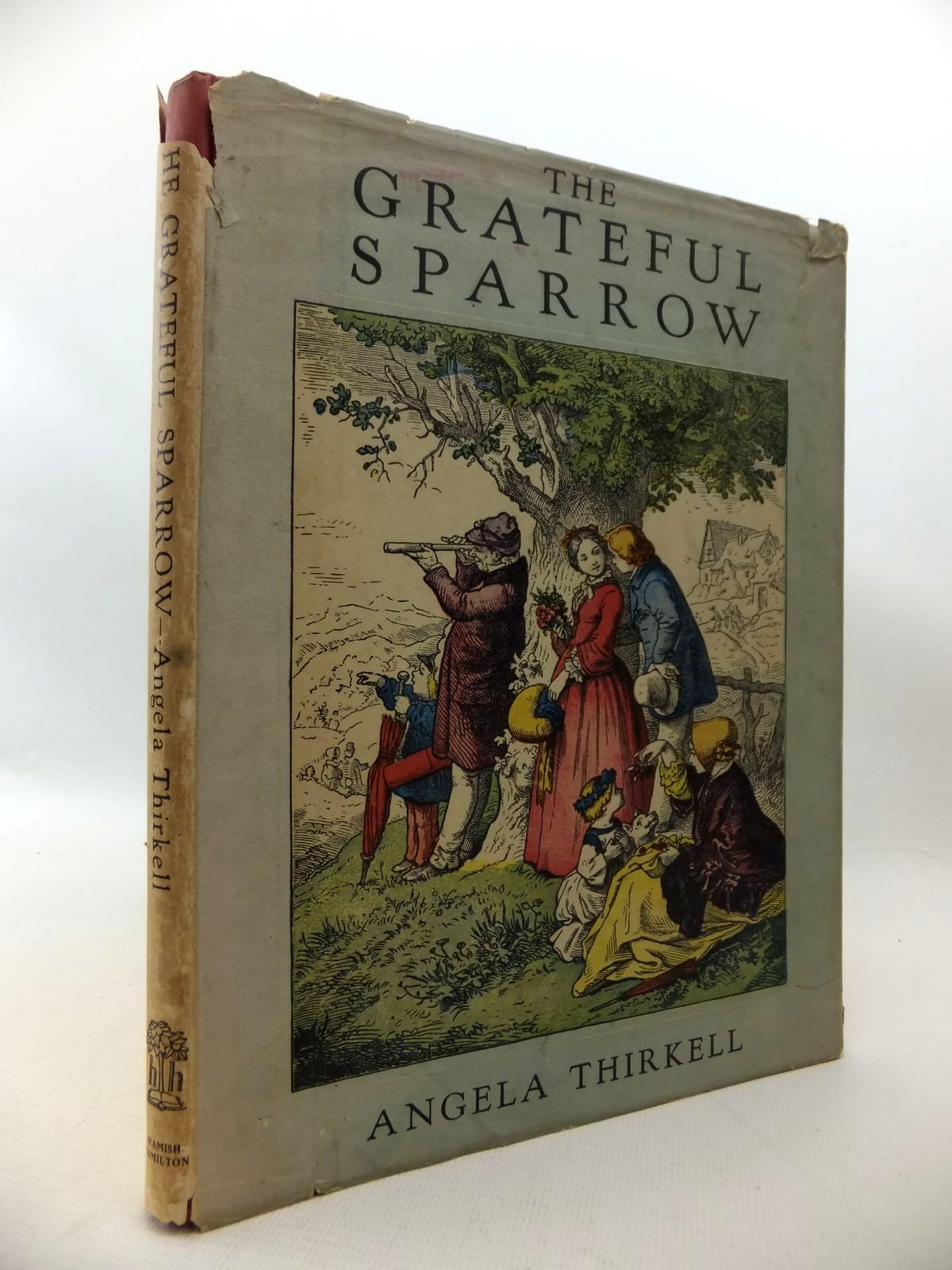 Photo of THE GRATEFUL SPARROW AND OTHER TALES written by Thirkell, Angela illustrated by Richter, Ludwig published by Hamish Hamilton (STOCK CODE: 1813881)  for sale by Stella & Rose's Books