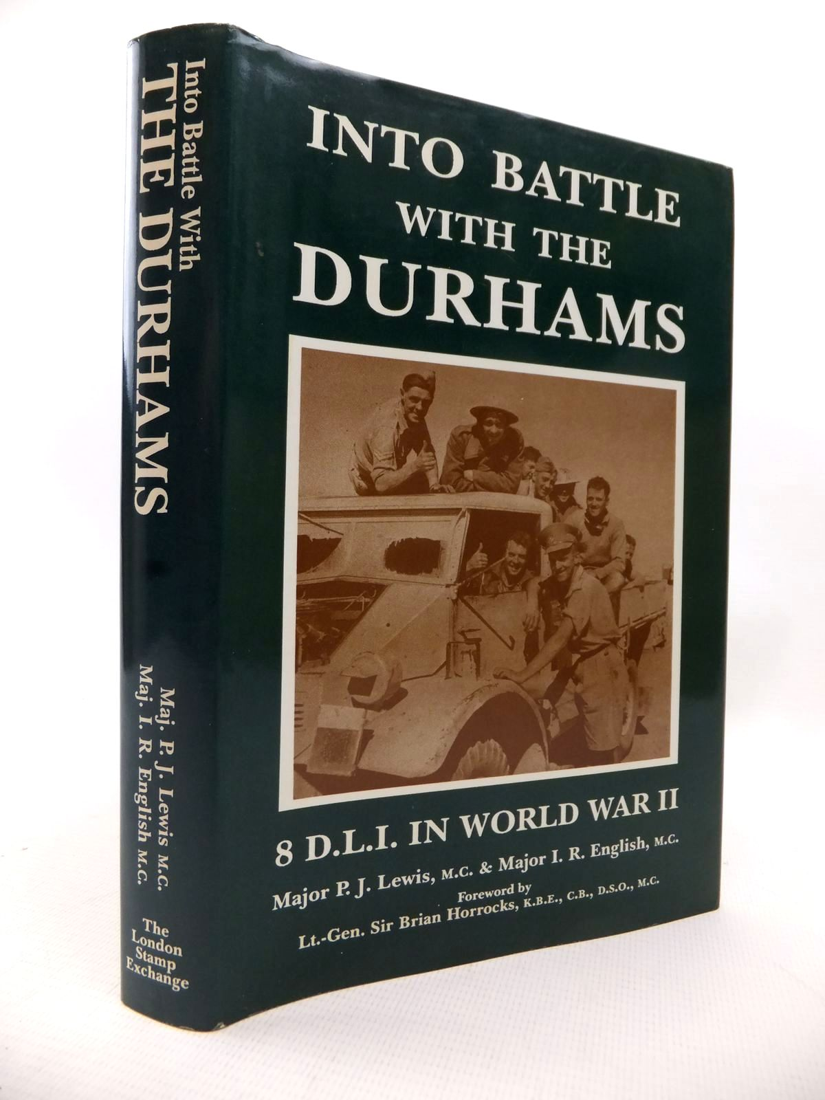 Photo of INTO BATTLE WITH THE DURHAMS written by Lewis, P.J. English, I.R. published by The London Stamp Exchange (STOCK CODE: 1813955)  for sale by Stella & Rose's Books