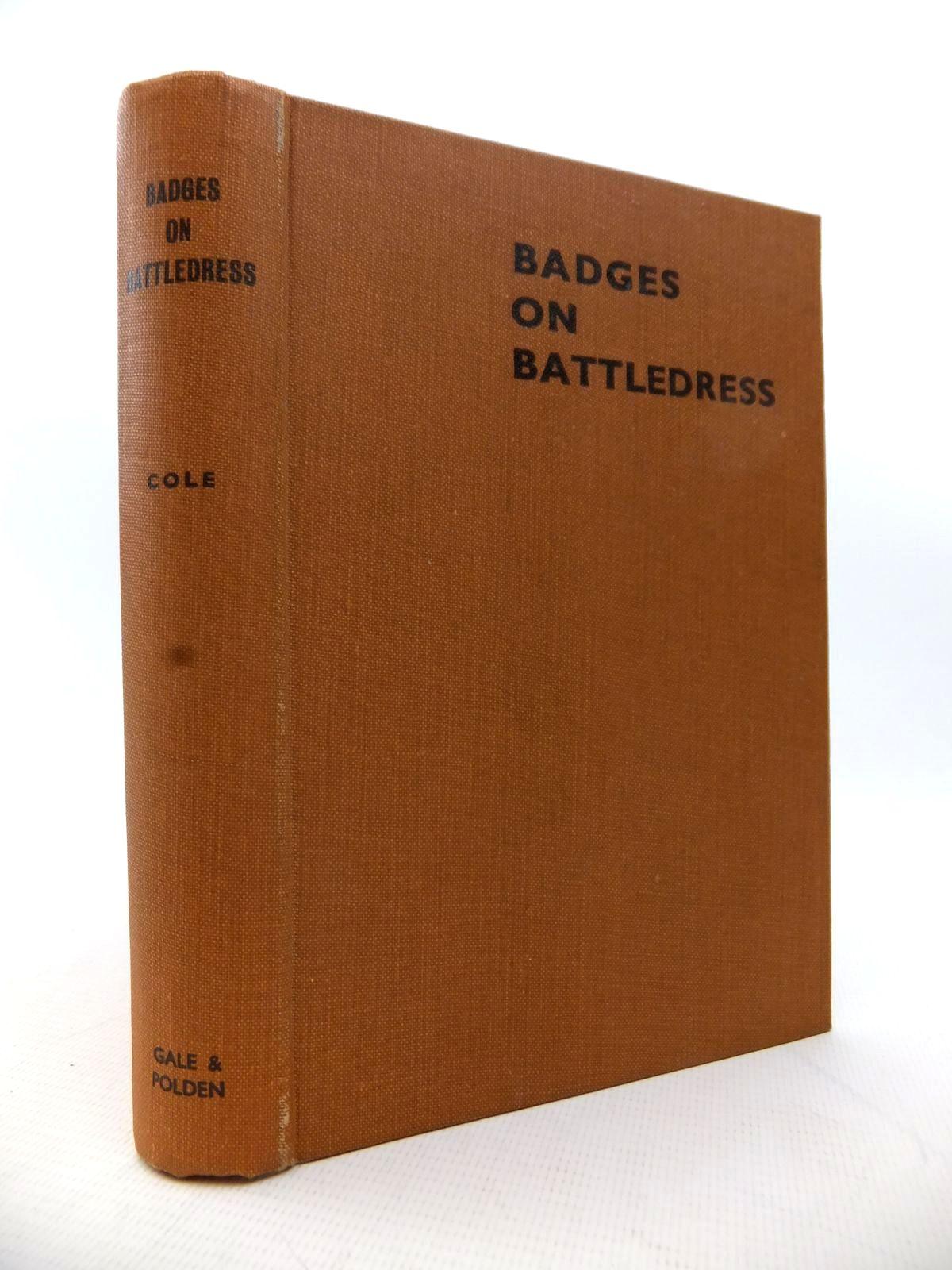 Photo of BADGES ON BATTLEDRESS- Stock Number: 1813964