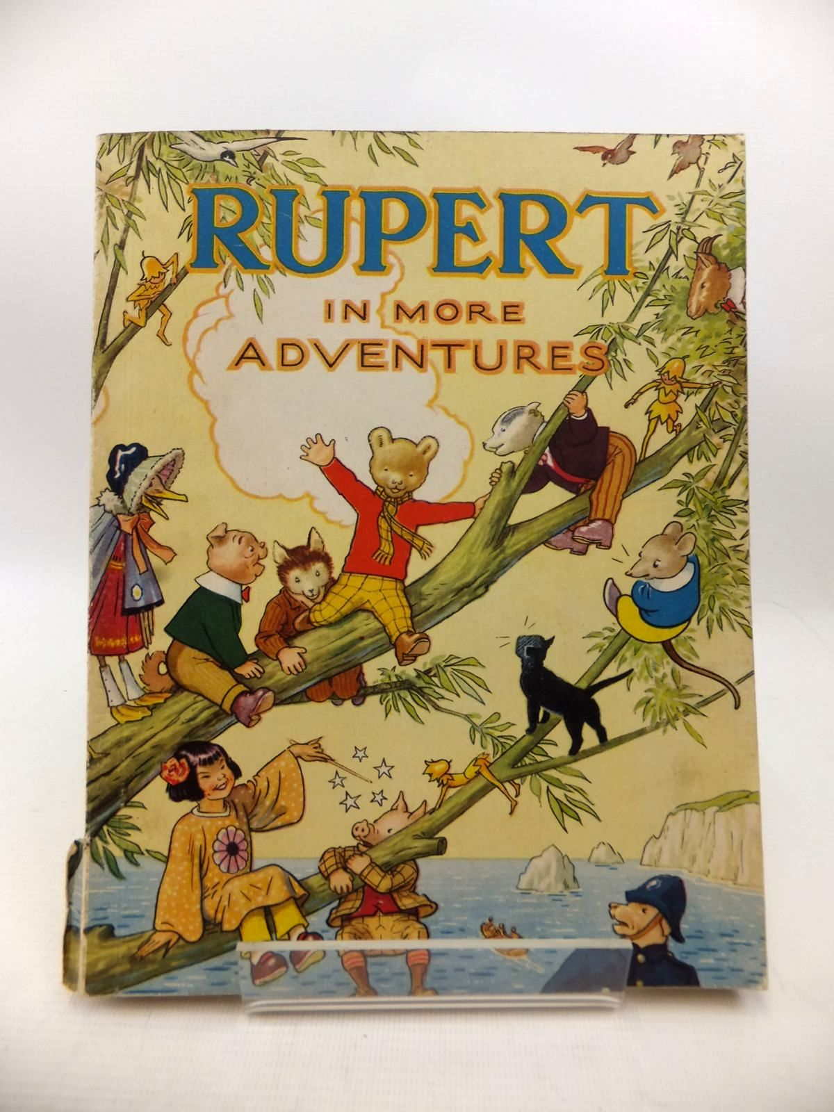 Photo of RUPERT ANNUAL 1944 - RUPERT IN MORE ADVENTURES written by Bestall, Alfred illustrated by Bestall, Alfred published by Daily Express (STOCK CODE: 1813976)  for sale by Stella & Rose's Books
