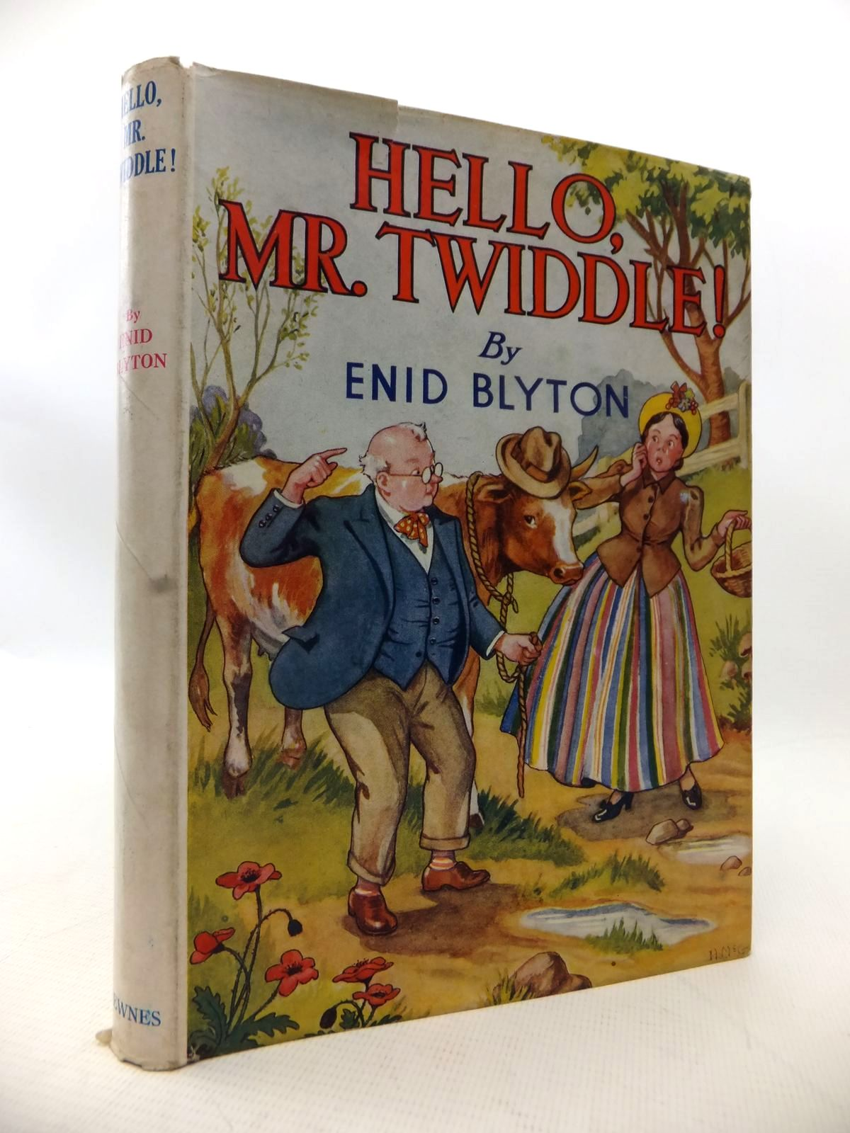 Photo of HELLO, MR. TWIDDLE! written by Blyton, Enid illustrated by McGavin, Hilda published by George Newnes Ltd. (STOCK CODE: 1814008)  for sale by Stella & Rose's Books