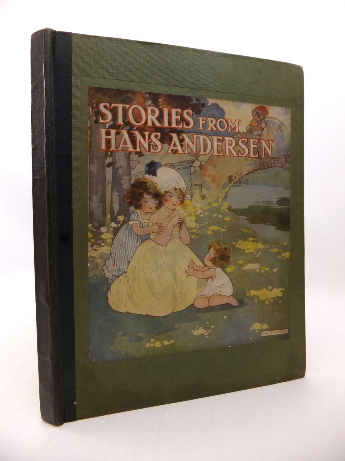 Photo of STORIES FROM HANS ANDERSEN written by Andersen, Hans Christian illustrated by Richardson, Agnes published by Geographia Ltd. (STOCK CODE: 1814112)  for sale by Stella & Rose's Books