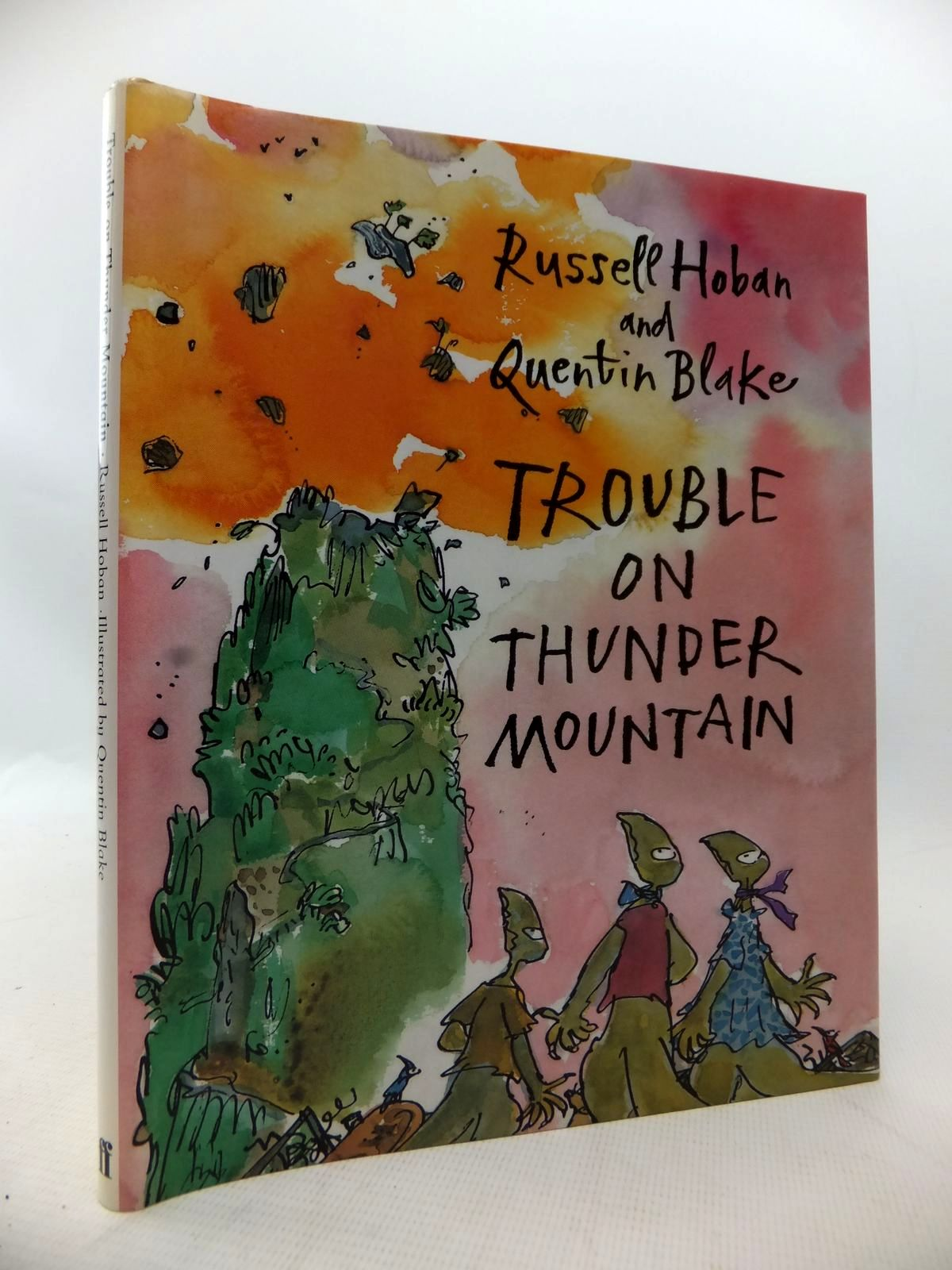 Photo of TROUBLE ON THUNDER MOUNTAIN written by Hoban, Russell illustrated by Blake, Quentin published by Faber & Faber (STOCK CODE: 1814137)  for sale by Stella & Rose's Books