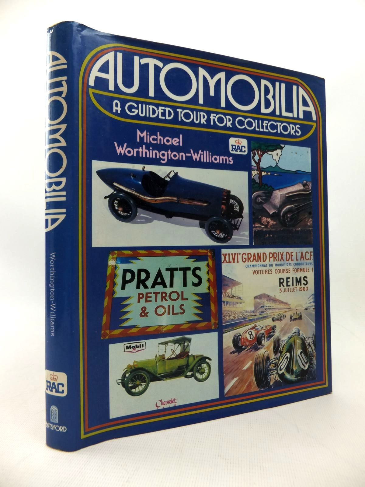 Photo of AUTOMOBILIA written by Worthington-Williams, Michael published by B.T. Batsford, Royal Automobile Club (STOCK CODE: 1814173)  for sale by Stella & Rose's Books