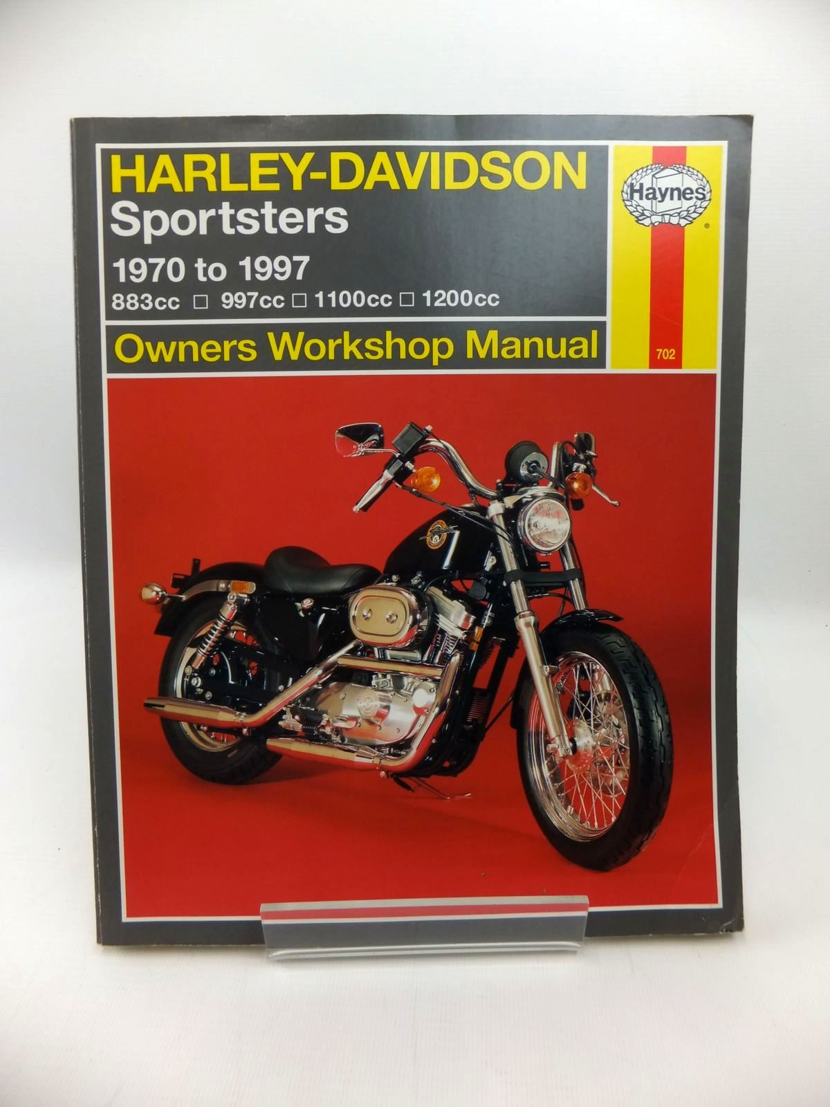 Photo of HARLEY-DAVIDSON SPORTSTERS OWNERS WORKSHOP MANUAL- Stock Number: 1814259
