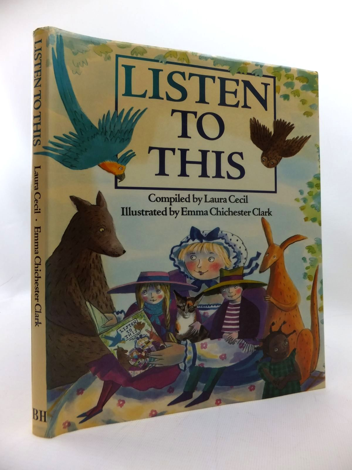 Photo of LISTEN TO THIS written by Cecil, Laura et al,  illustrated by Clark, Emma Chichester published by The Bodley Head (STOCK CODE: 1814590)  for sale by Stella & Rose's Books