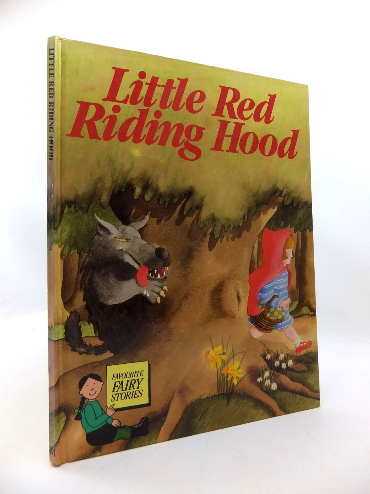 Photo of LITTLE RED RIDING HOOD written by Grimm, Brothers<br />Verschoyle, Teresa illustrated by Lewis, Jan published by MacMillan (STOCK CODE: 1814593)  for sale by Stella & Rose's Books