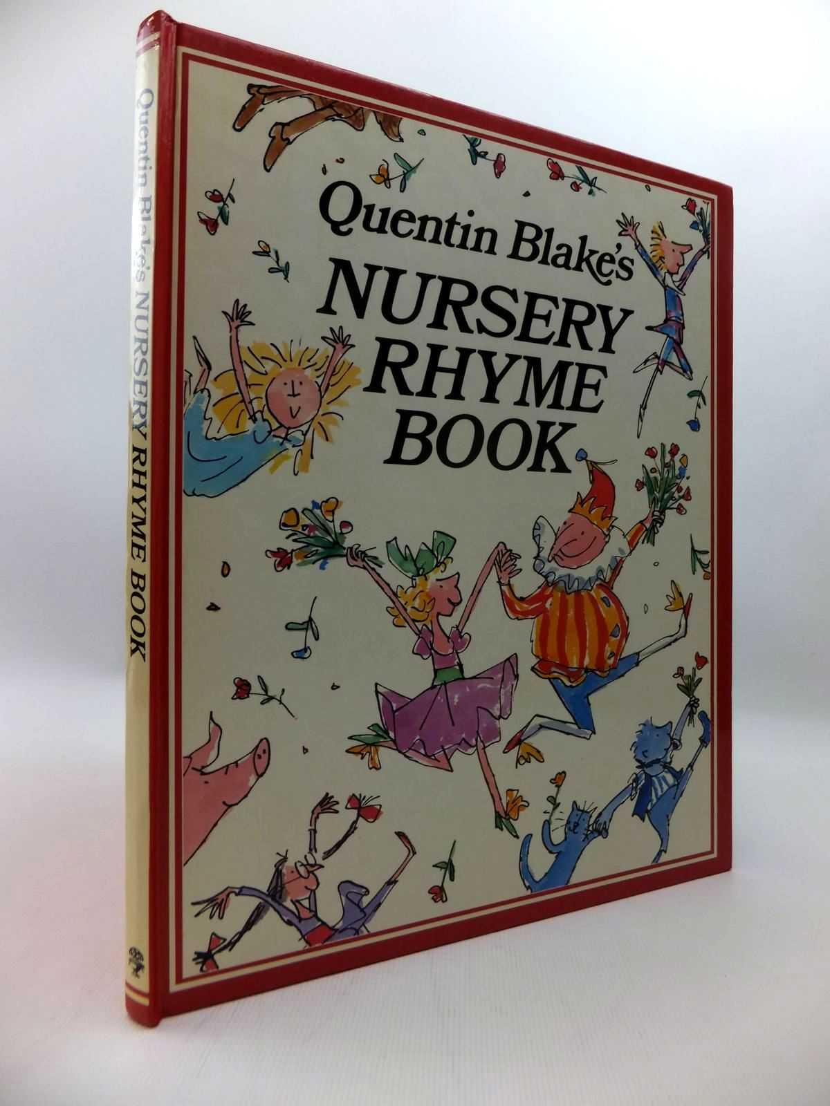 Photo of QUENTIN BLAKE'S NURSERY RHYME BOOK written by Blake, Quentin illustrated by Blake, Quentin published by Jonathan Cape (STOCK CODE: 1814627)  for sale by Stella & Rose's Books
