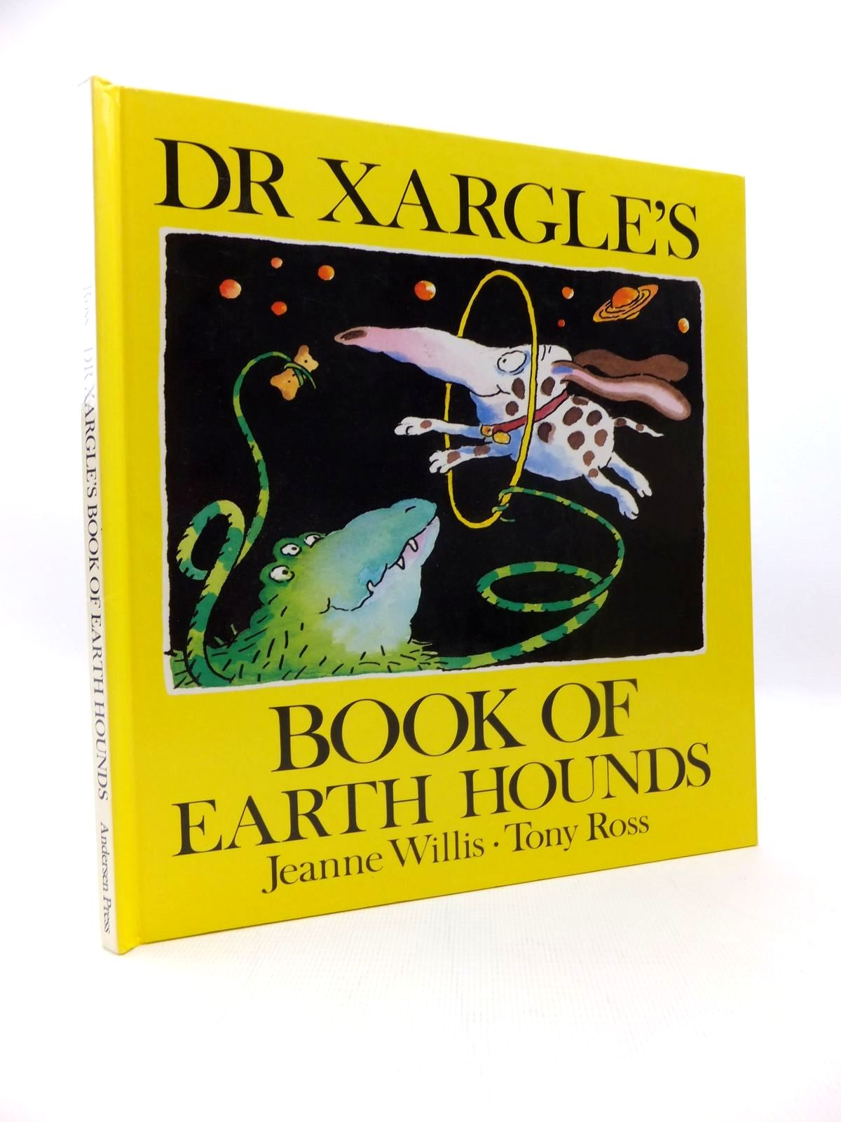 Photo of DR XARGLE'S BOOK OF EARTH HOUNDS written by Willis, Jeanne illustrated by Ross, Tony published by Andersen Press (STOCK CODE: 1814638)  for sale by Stella & Rose's Books